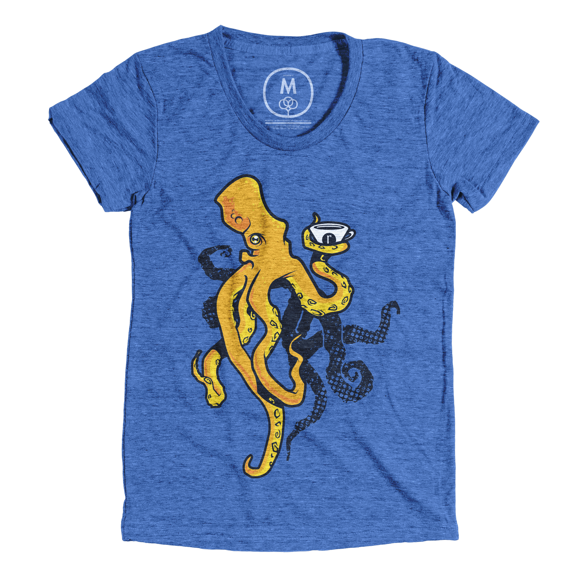 Kyle the Octopus Vintage Royal (Women's)