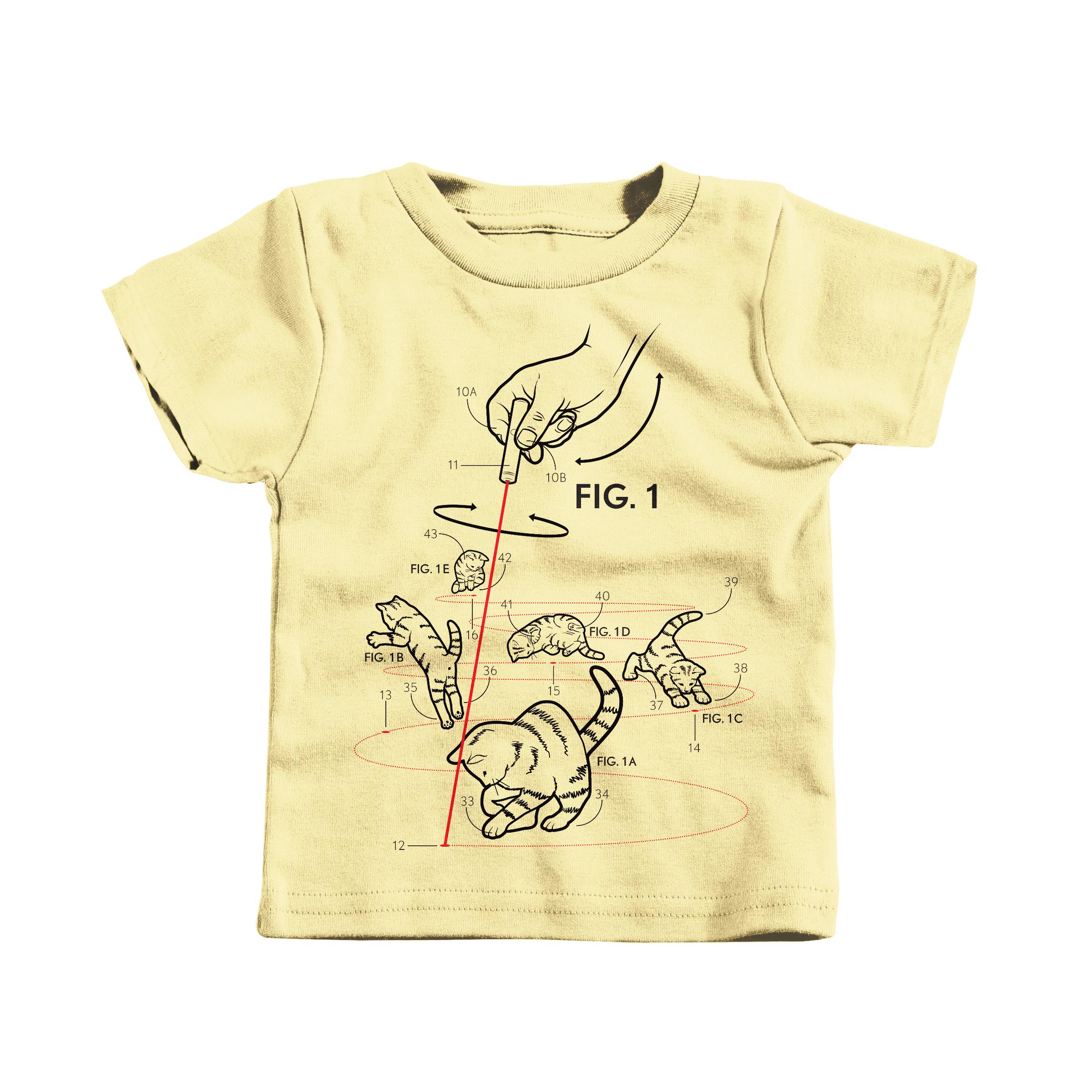 LazerCats! Butter (T-Shirt)