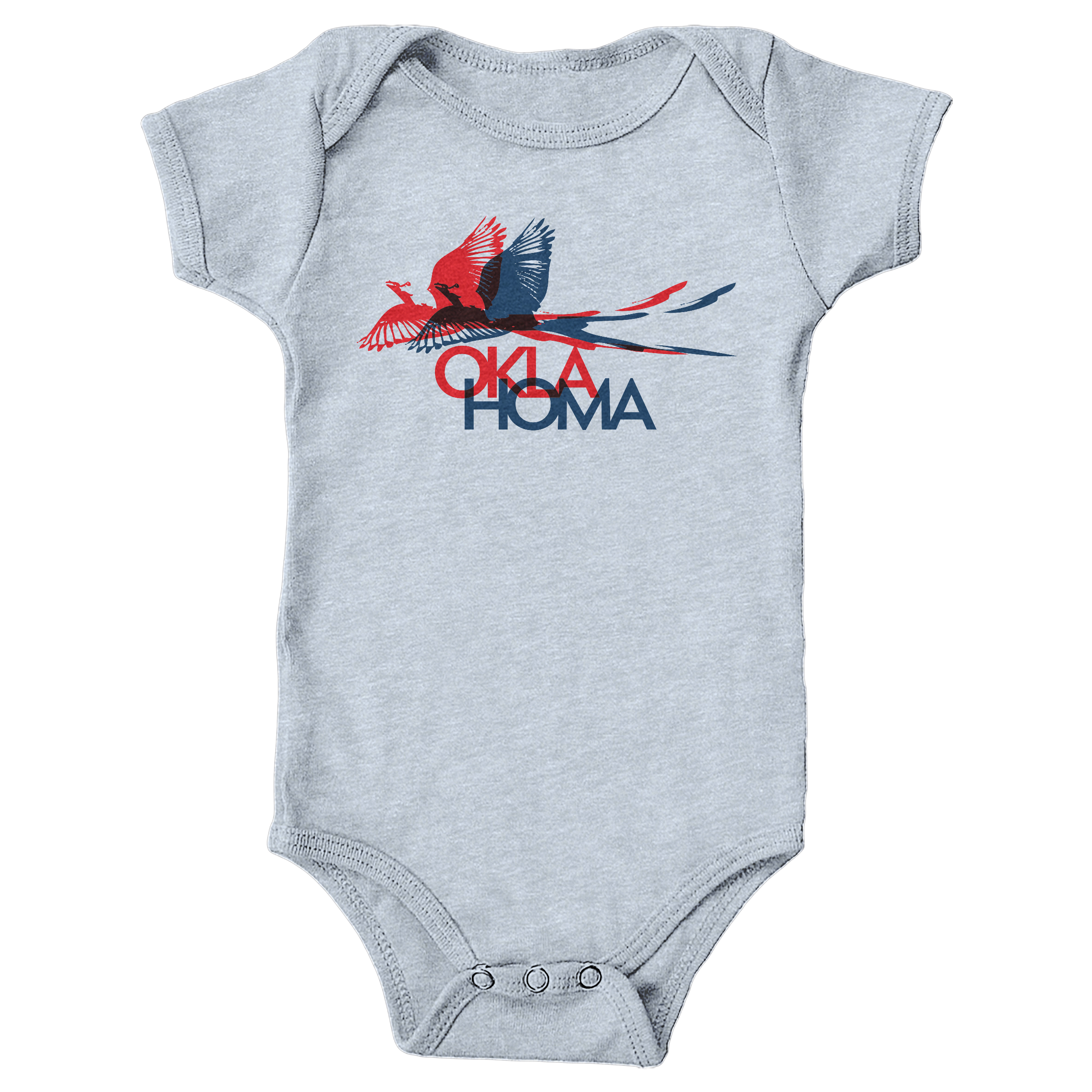 scissor-tailed flycatcher Heather Grey (Onesie)