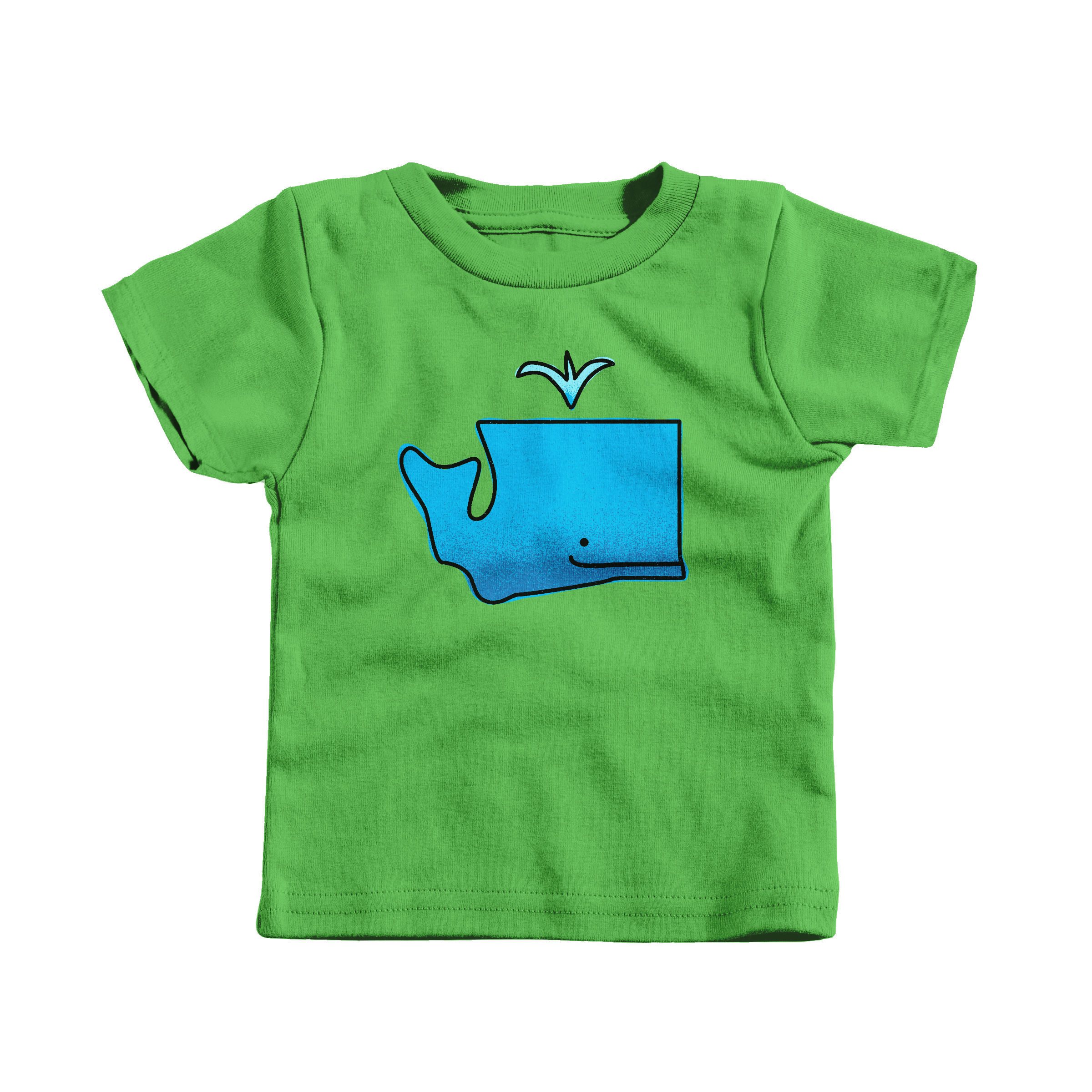 WA Whale Apple (T-Shirt)