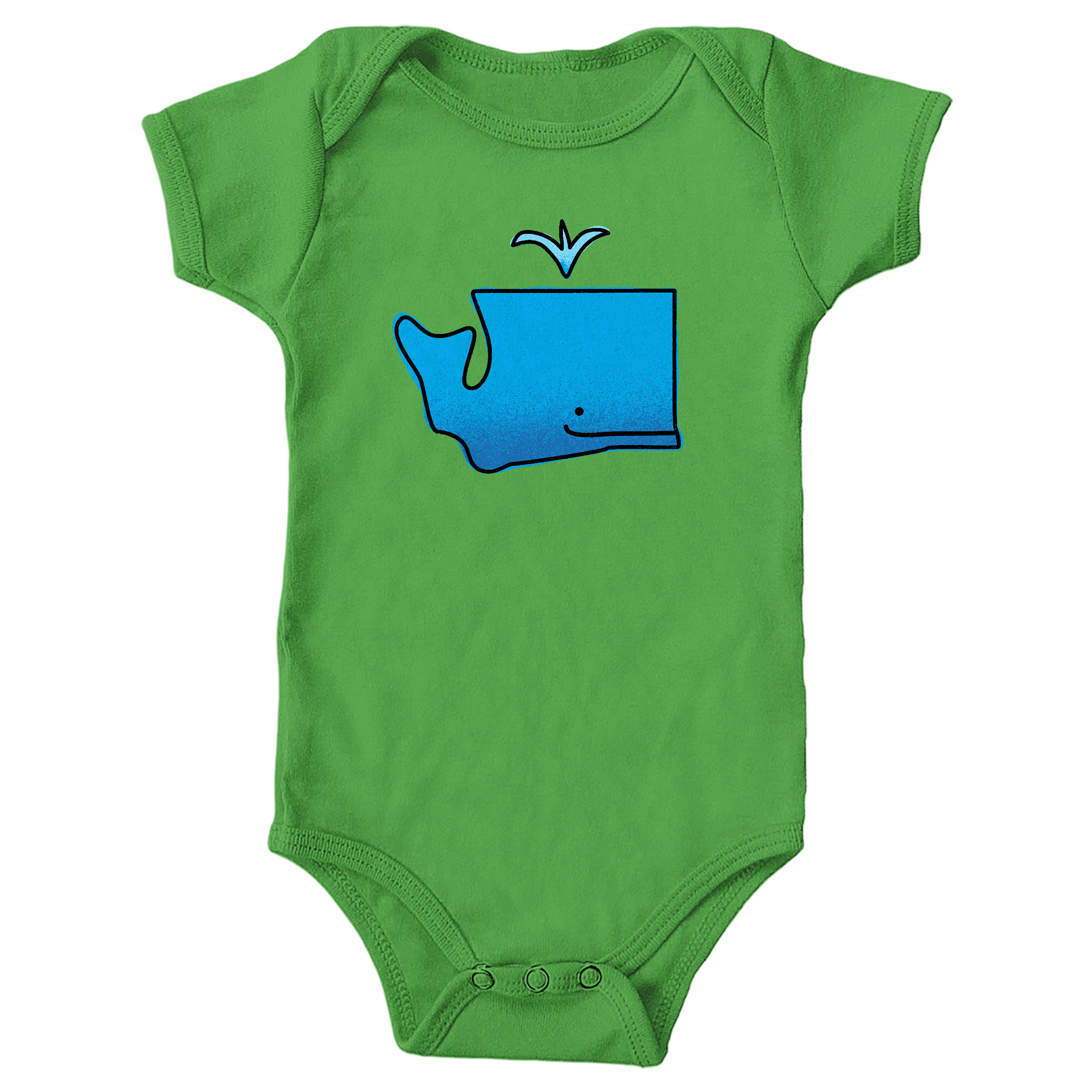 WA Whale Apple (Onesie)