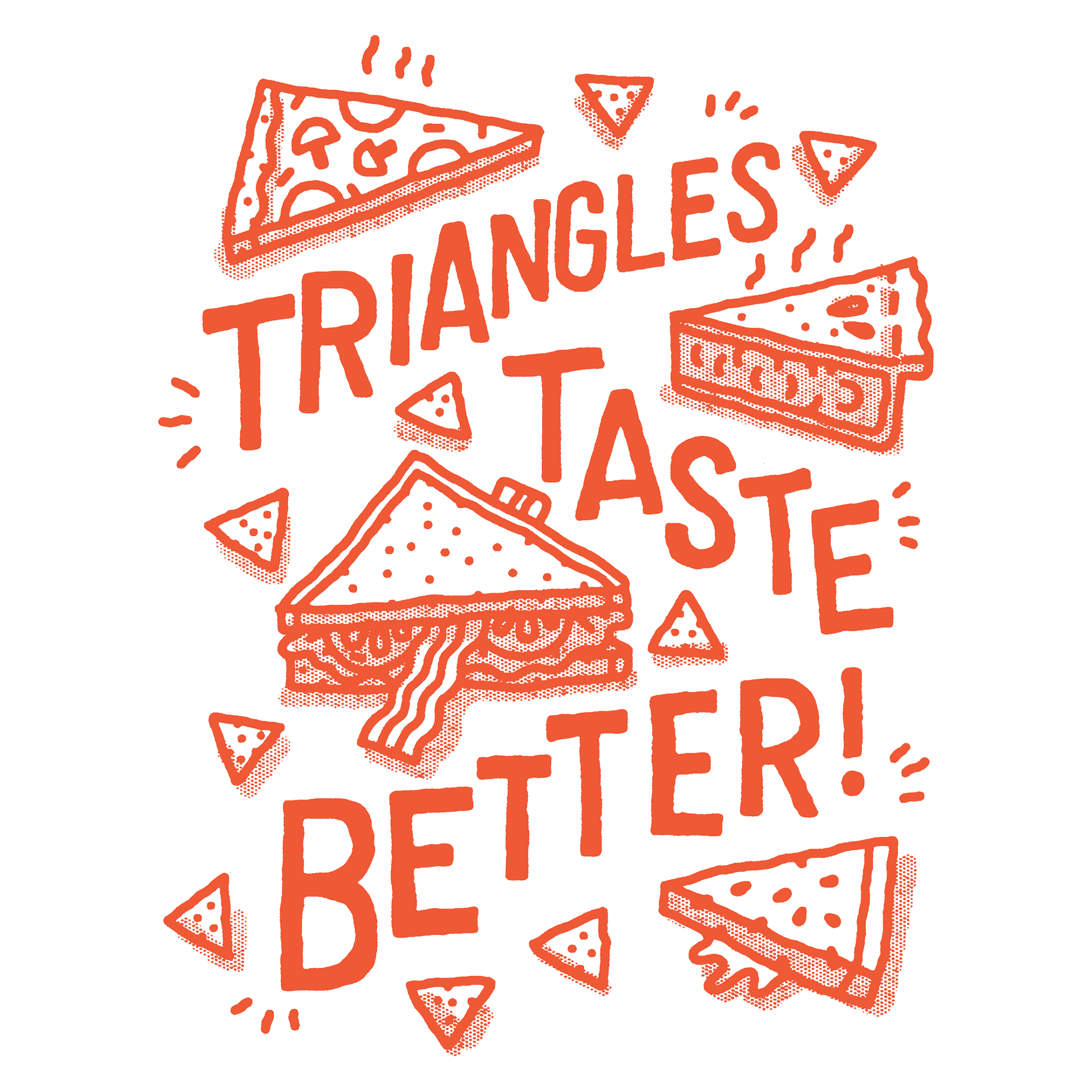 Triangles Taste Better, benefiting La Cocina SF Detail