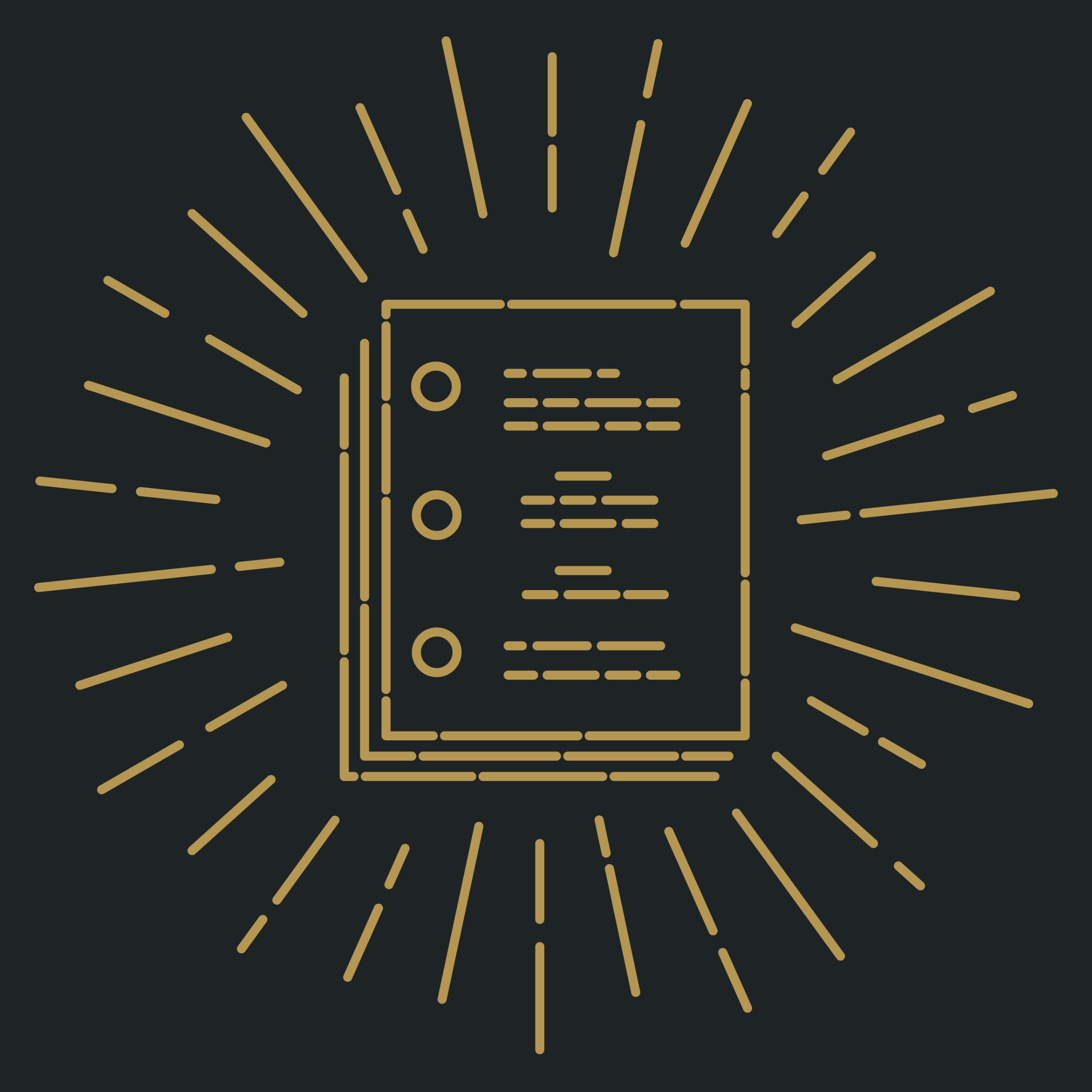 Scriptnotes Gold Standard Detail