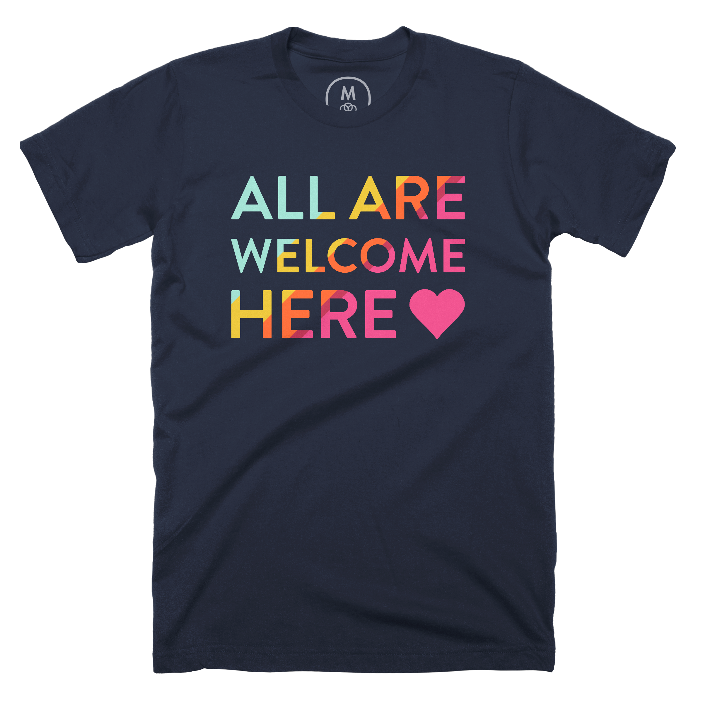 All Are Welcome Here Midnight Navy (Men's)