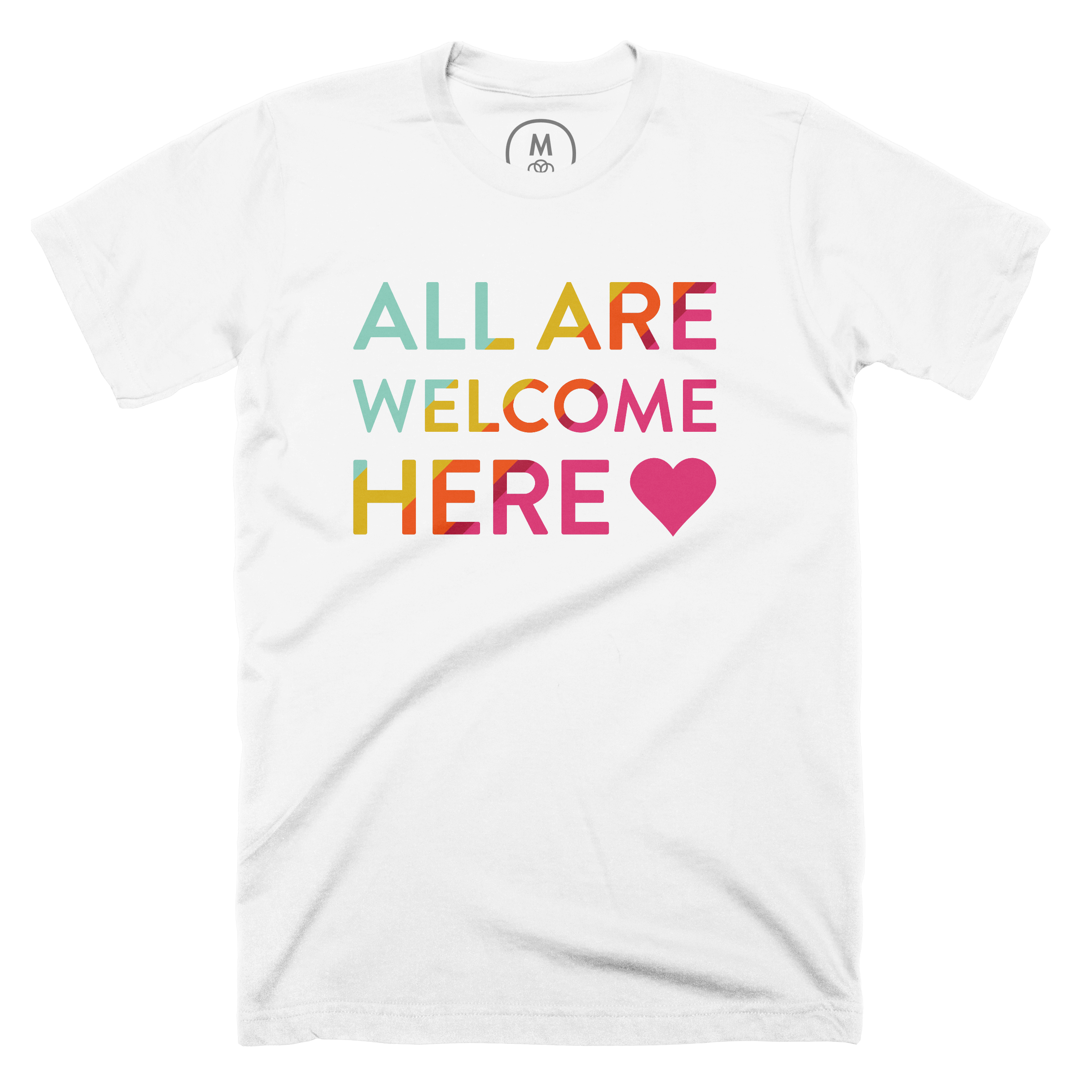 All Are Welcome Here White (Men's)