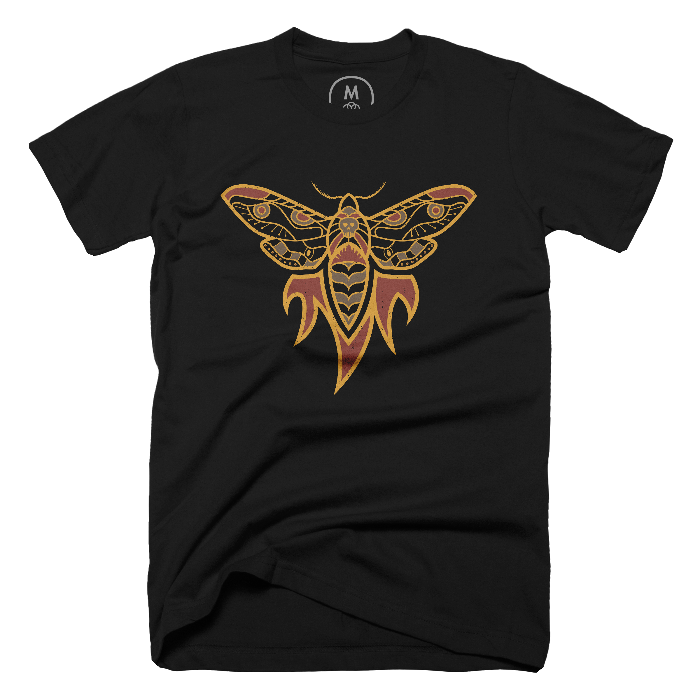 Flaming Moth Black (Men's)