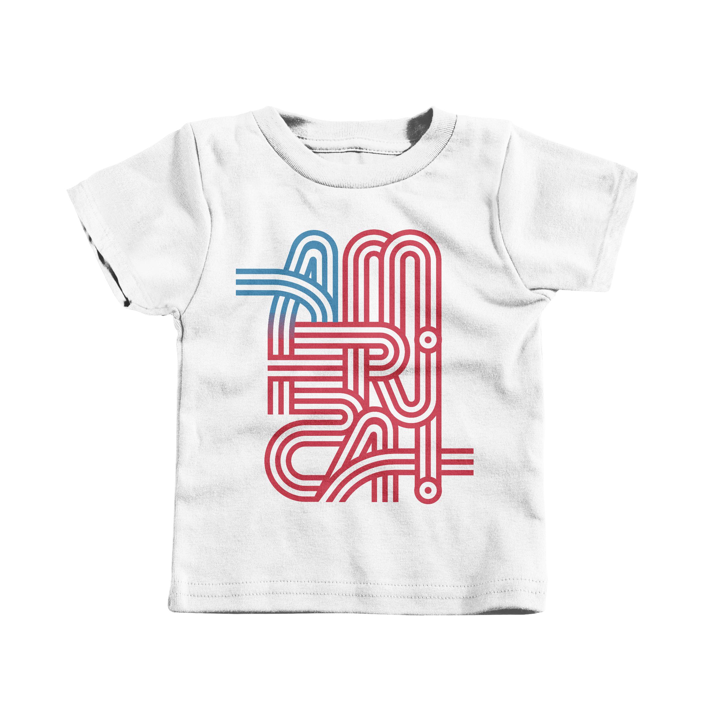 America! White (T-Shirt)