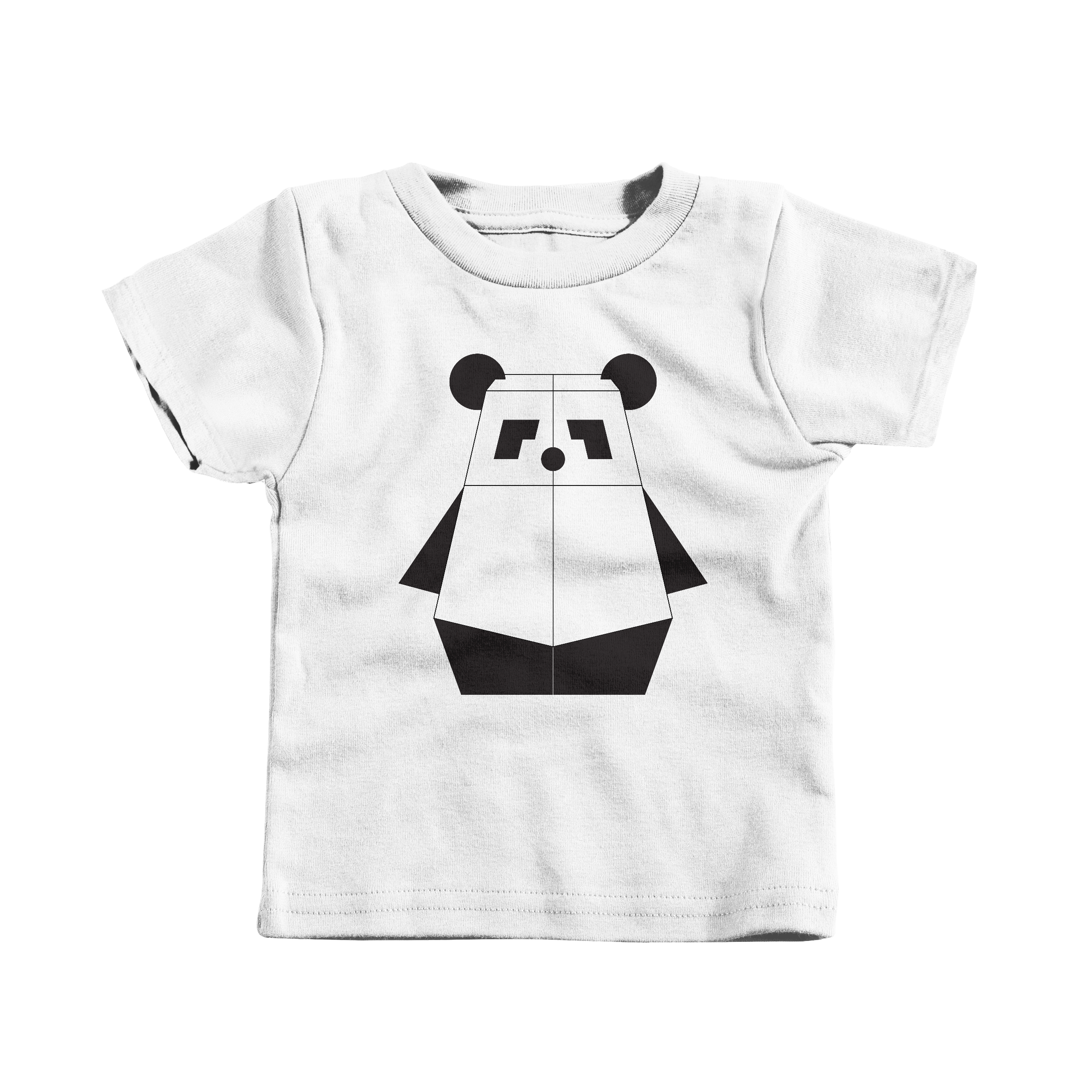 Pandabot White (T-Shirt)