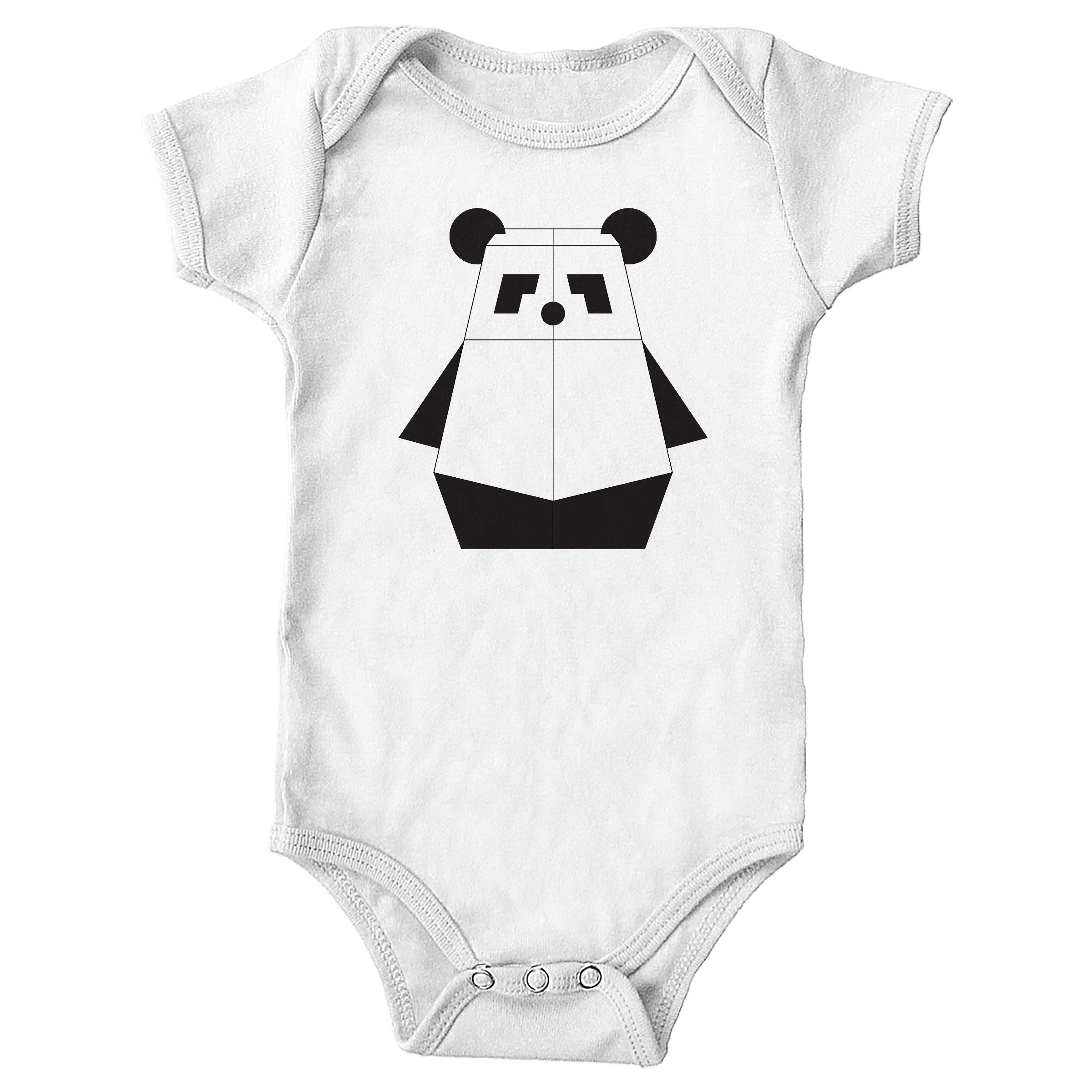 Pandabot White (Onesie)