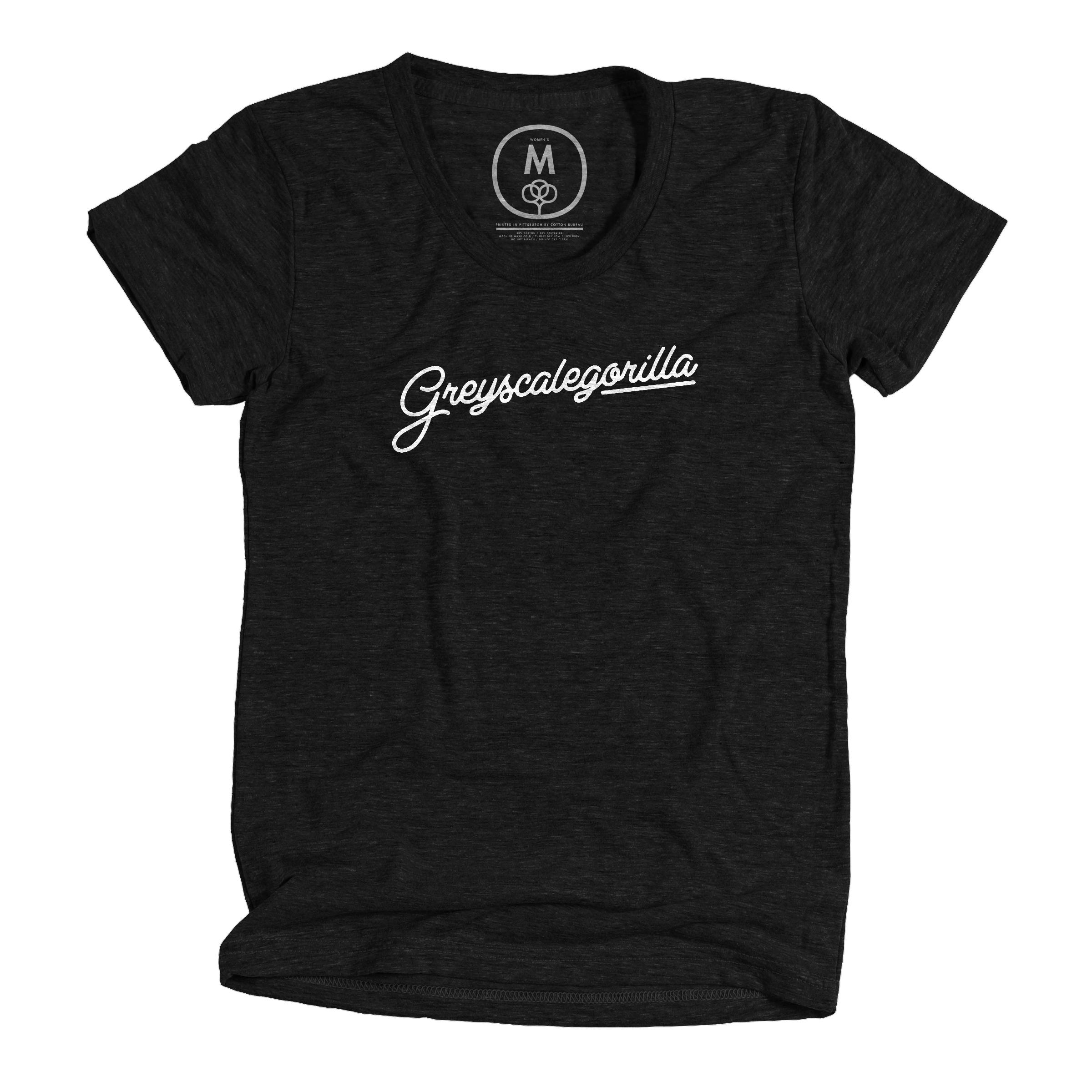 Greyscalegorilla Script Limited Edition Vintage Black (Women's)