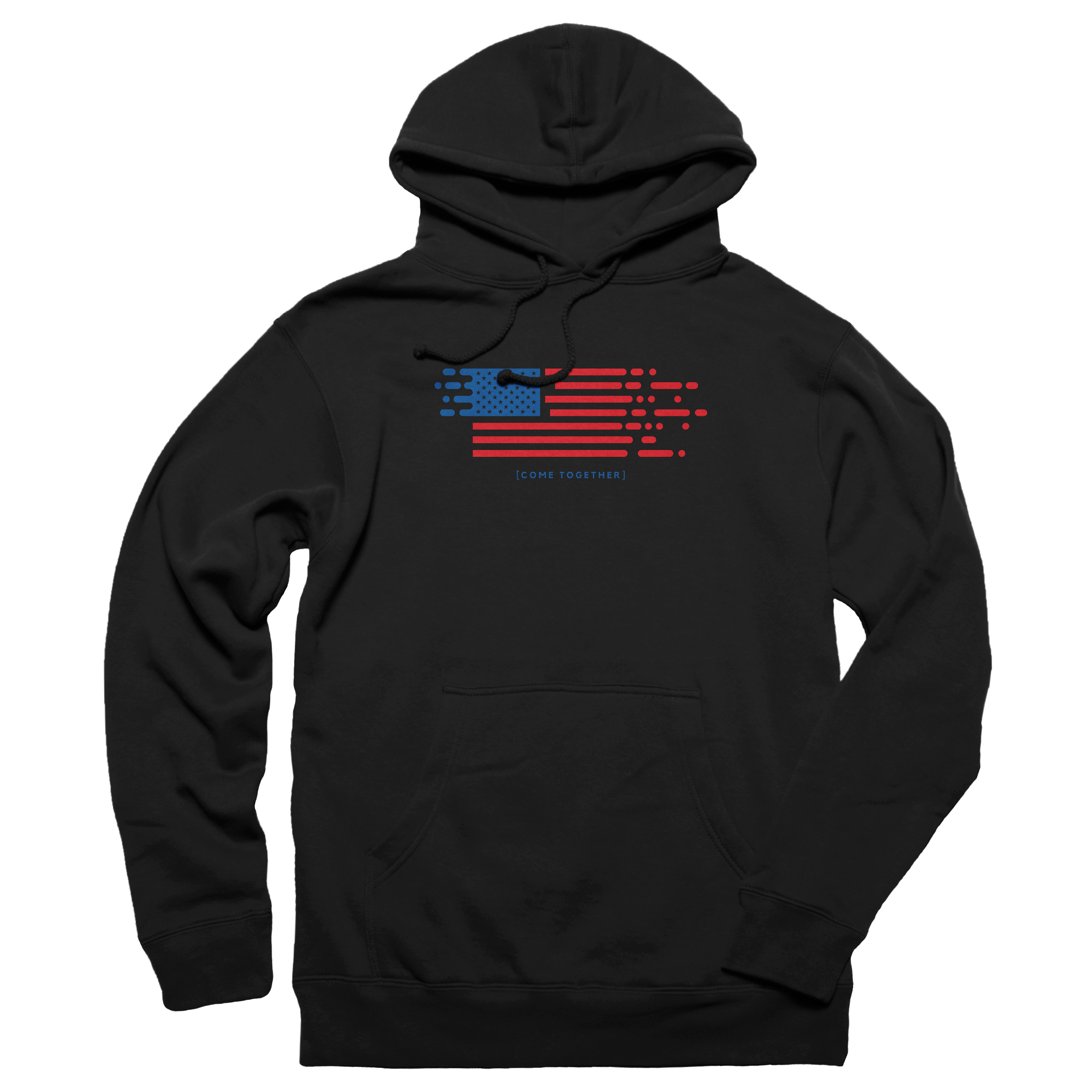 Come Together America Pullover Hoodie