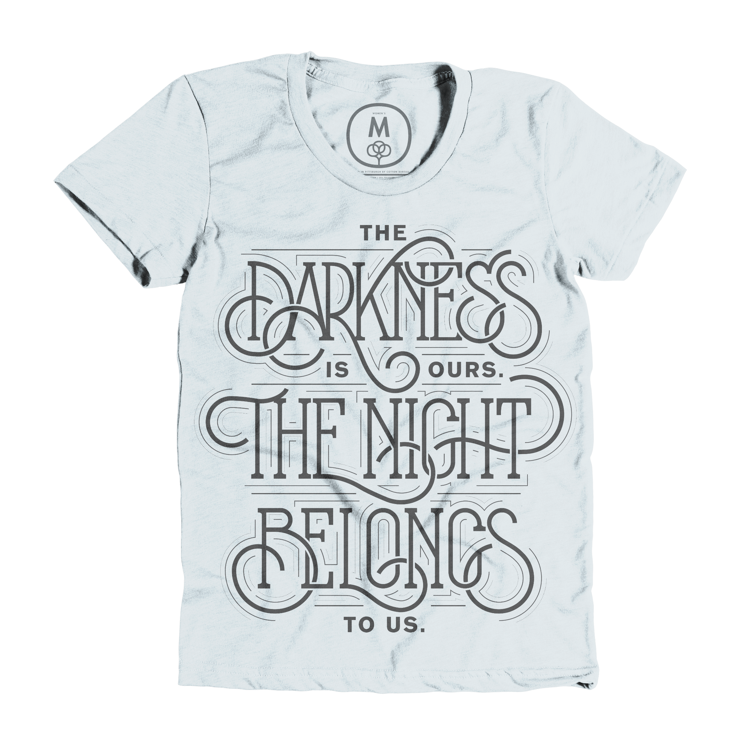 The Darkness is Ours Ice Blue (Women's)
