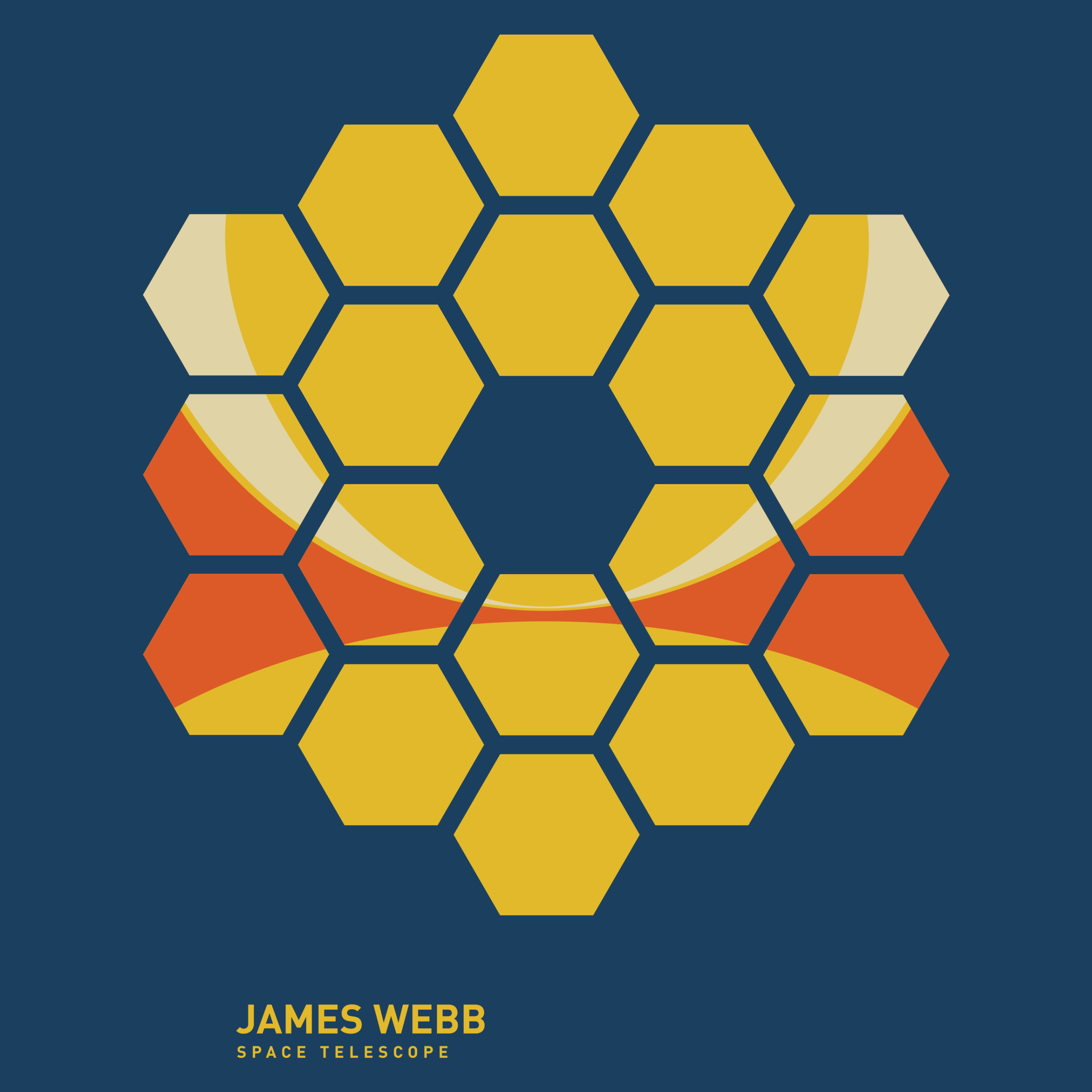 James Webb Space Telescope Detail
