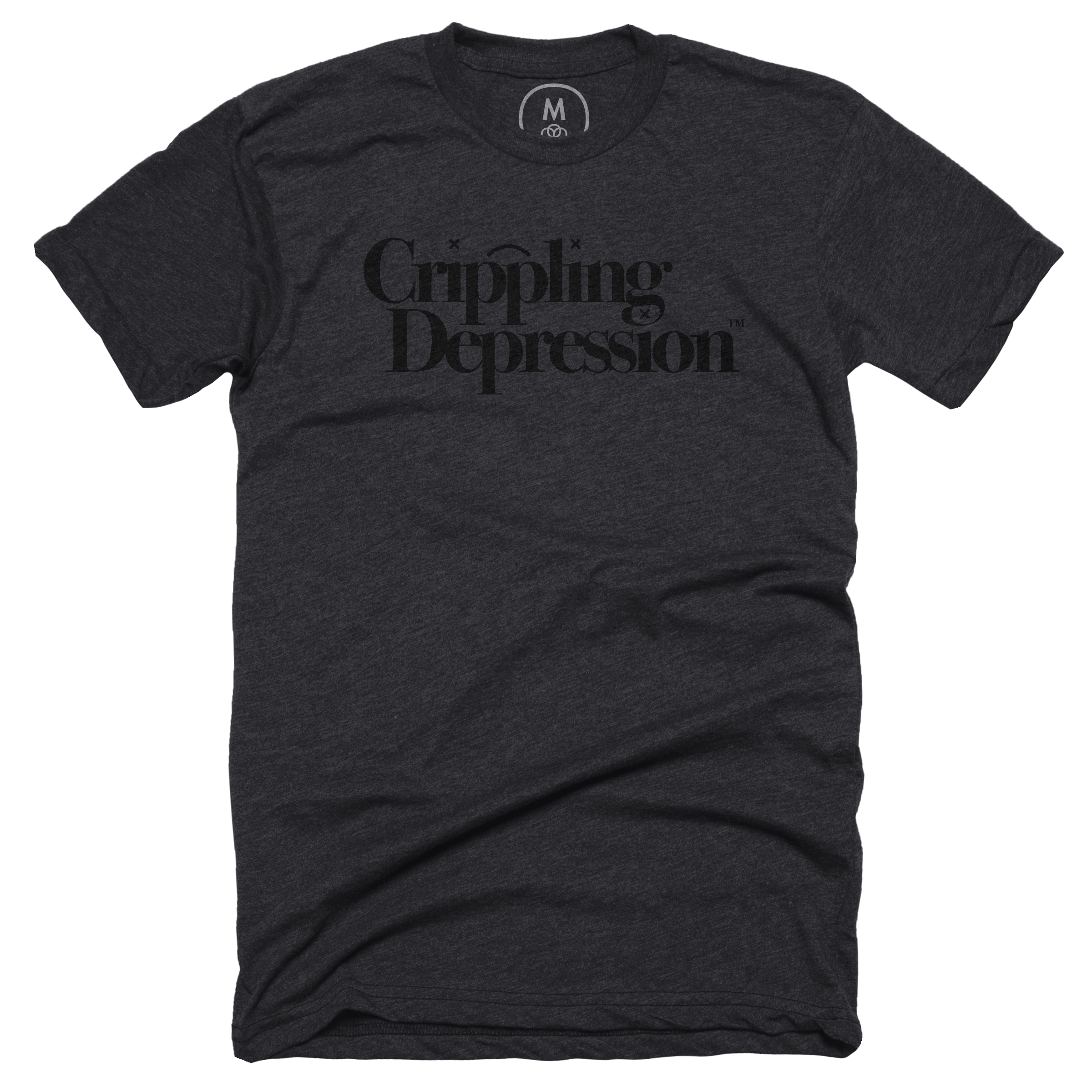 Crippling Depression™ Charcoal (Men's)