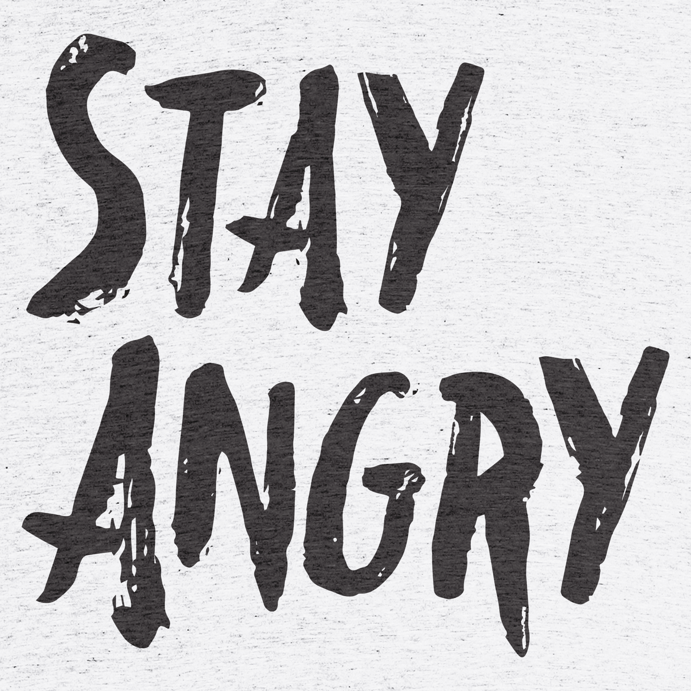 Stay Angry Detail