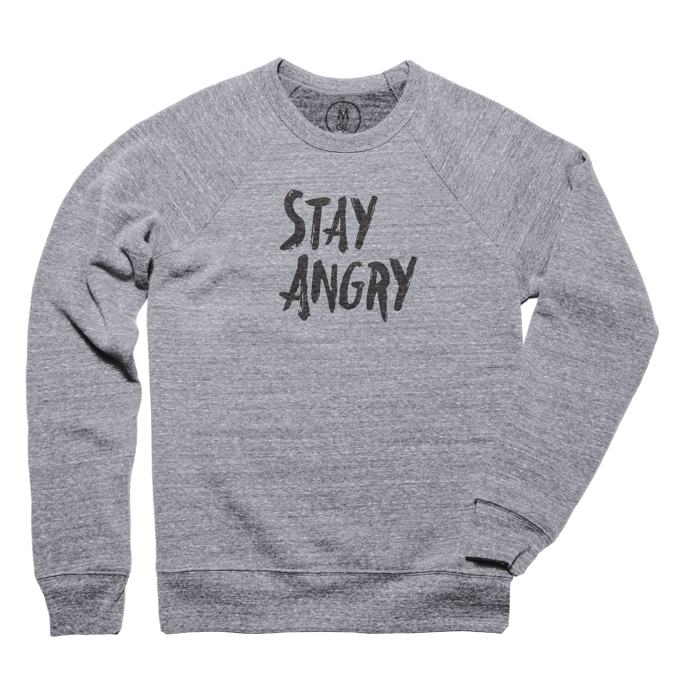 Stay Angry Pullover Crewneck