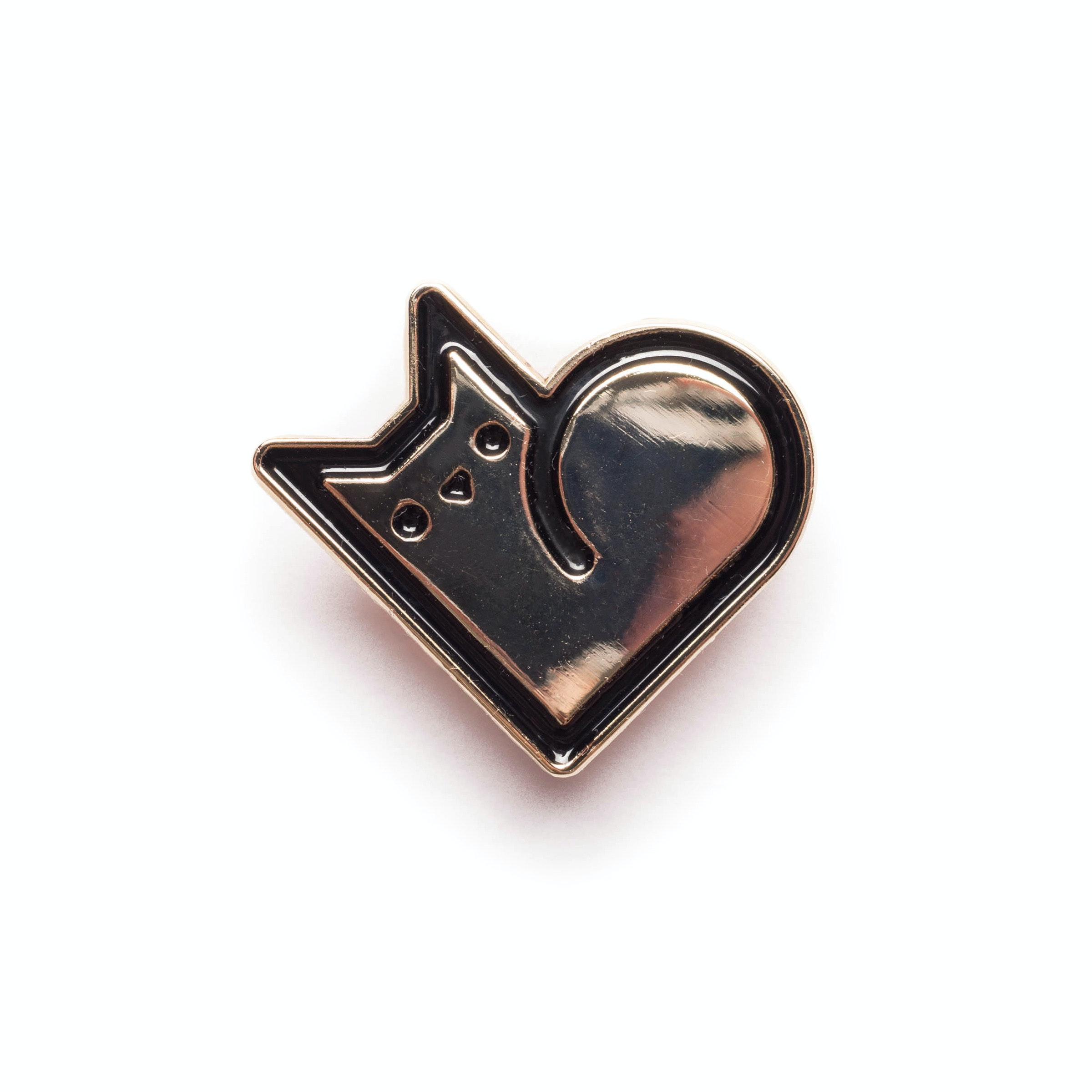Purr Heart Pin