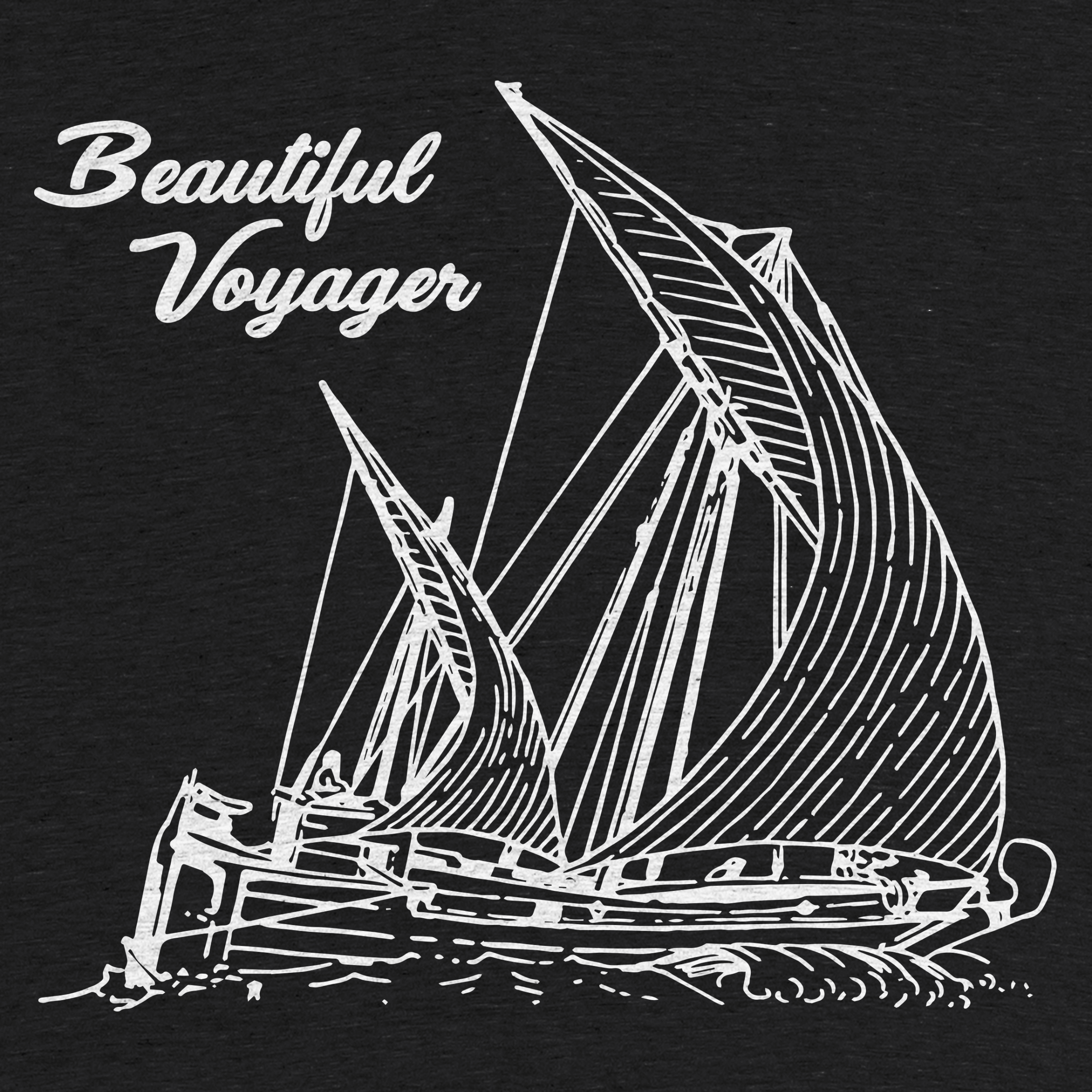 The Beautiful Voyager Shirt Detail