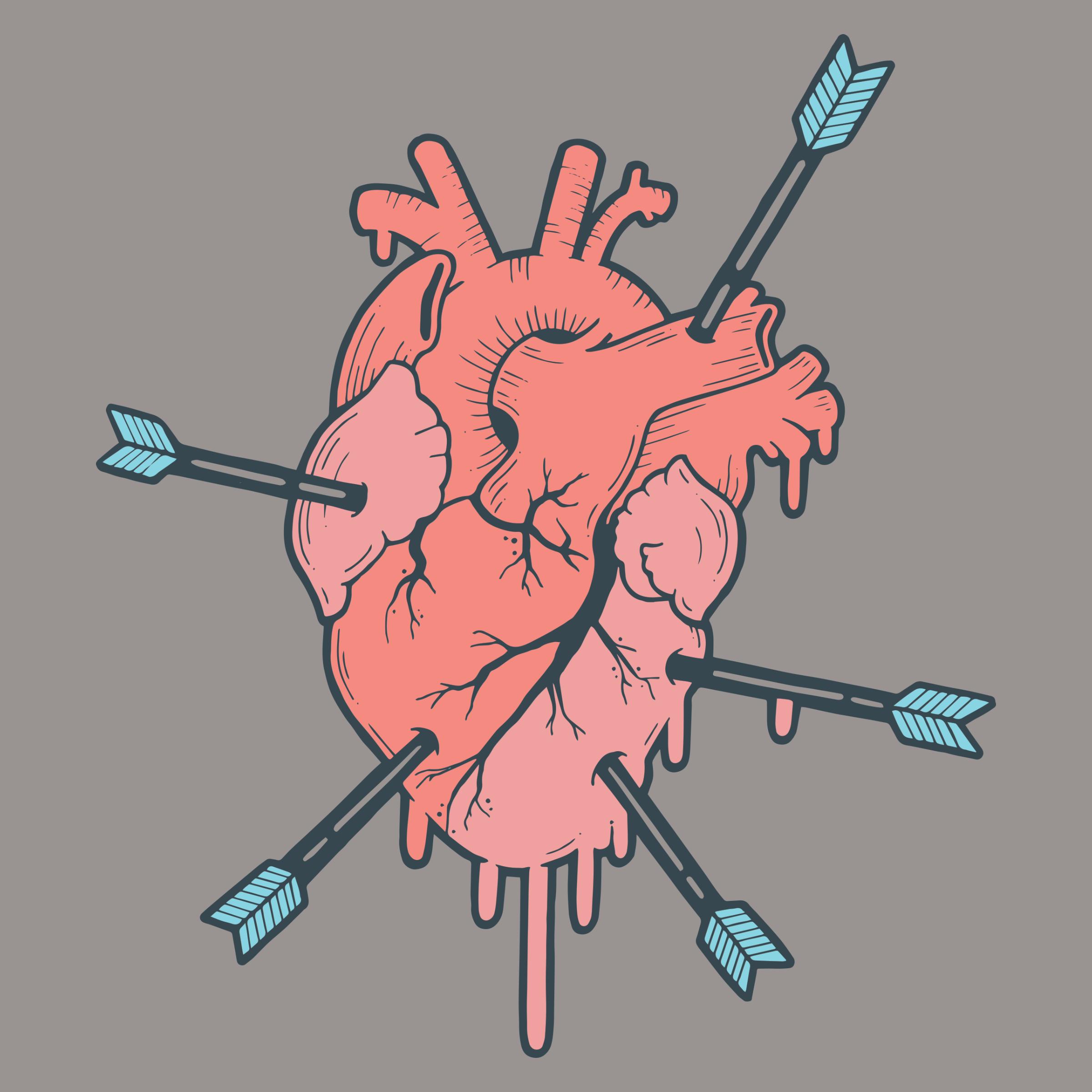 Broken Heart Detail