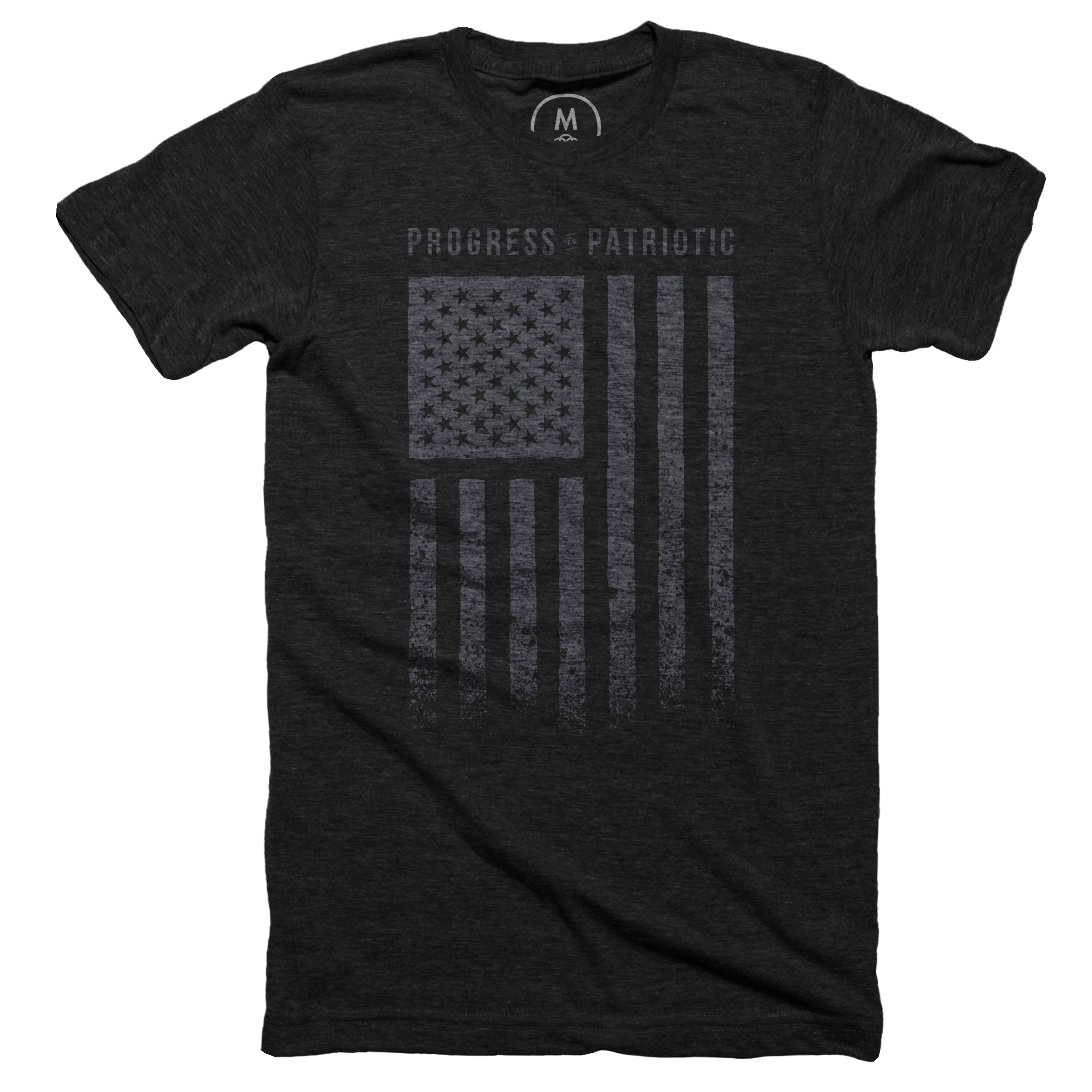 Progress is Patriotic Vintage Black (Men's)