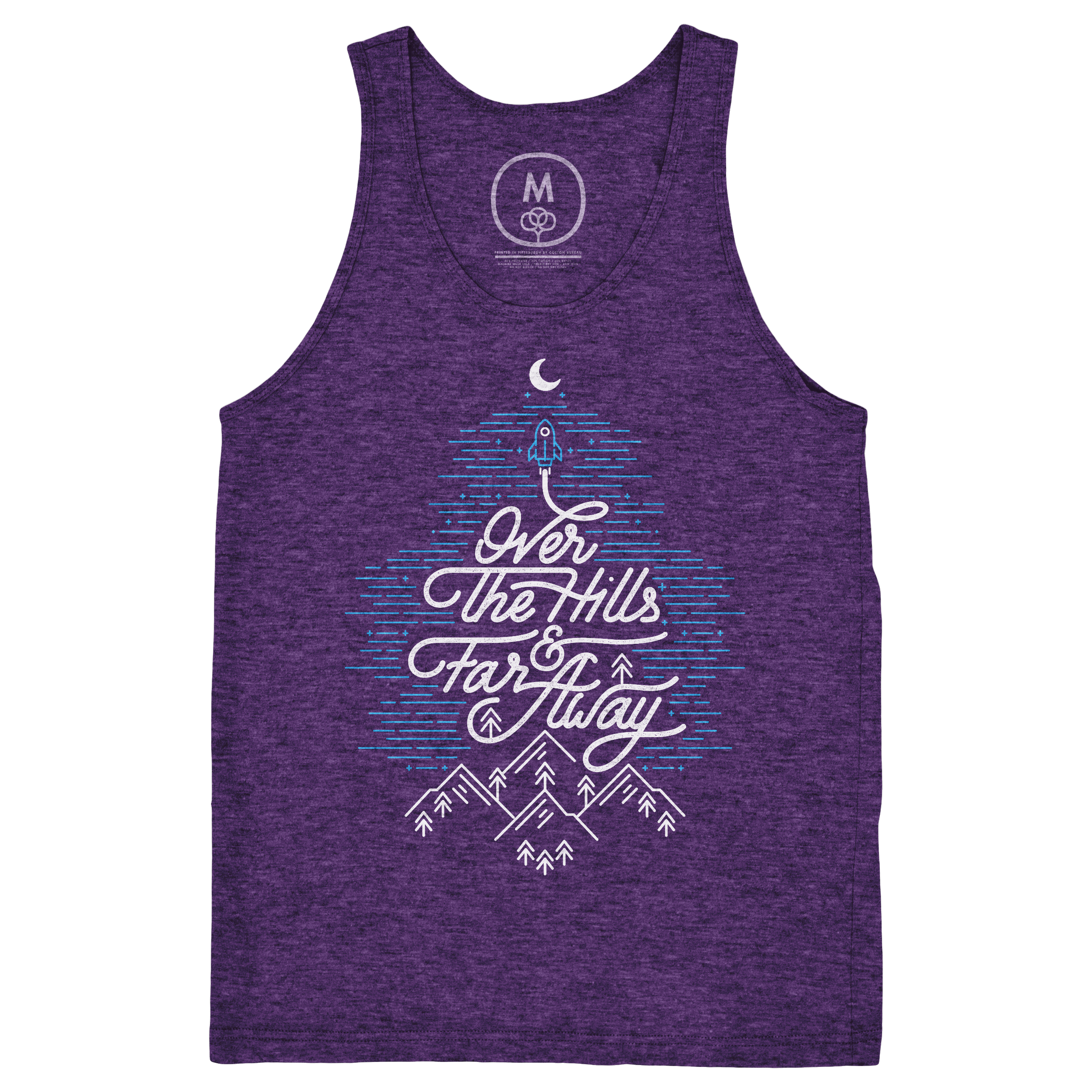 Over The Hills And Far Away Tank Top