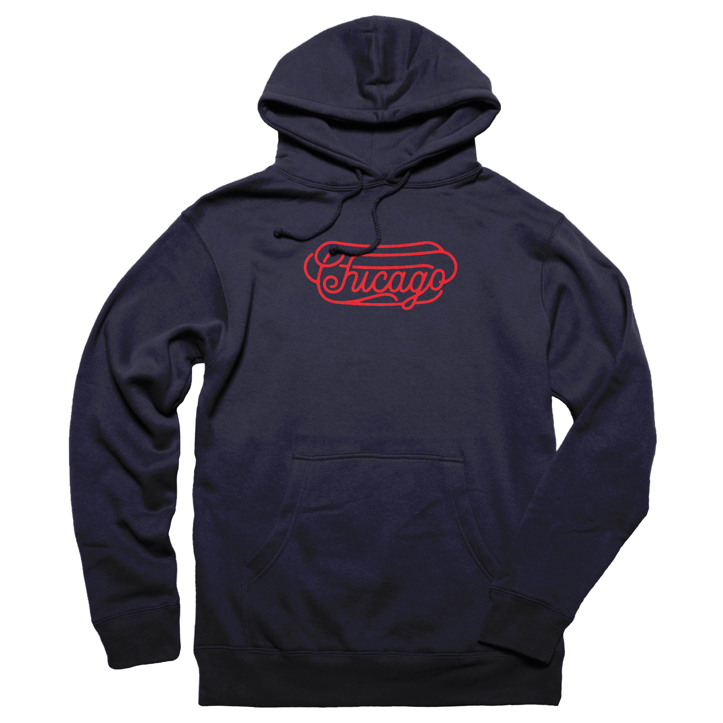 Chicago-Style Pullover Hoodie