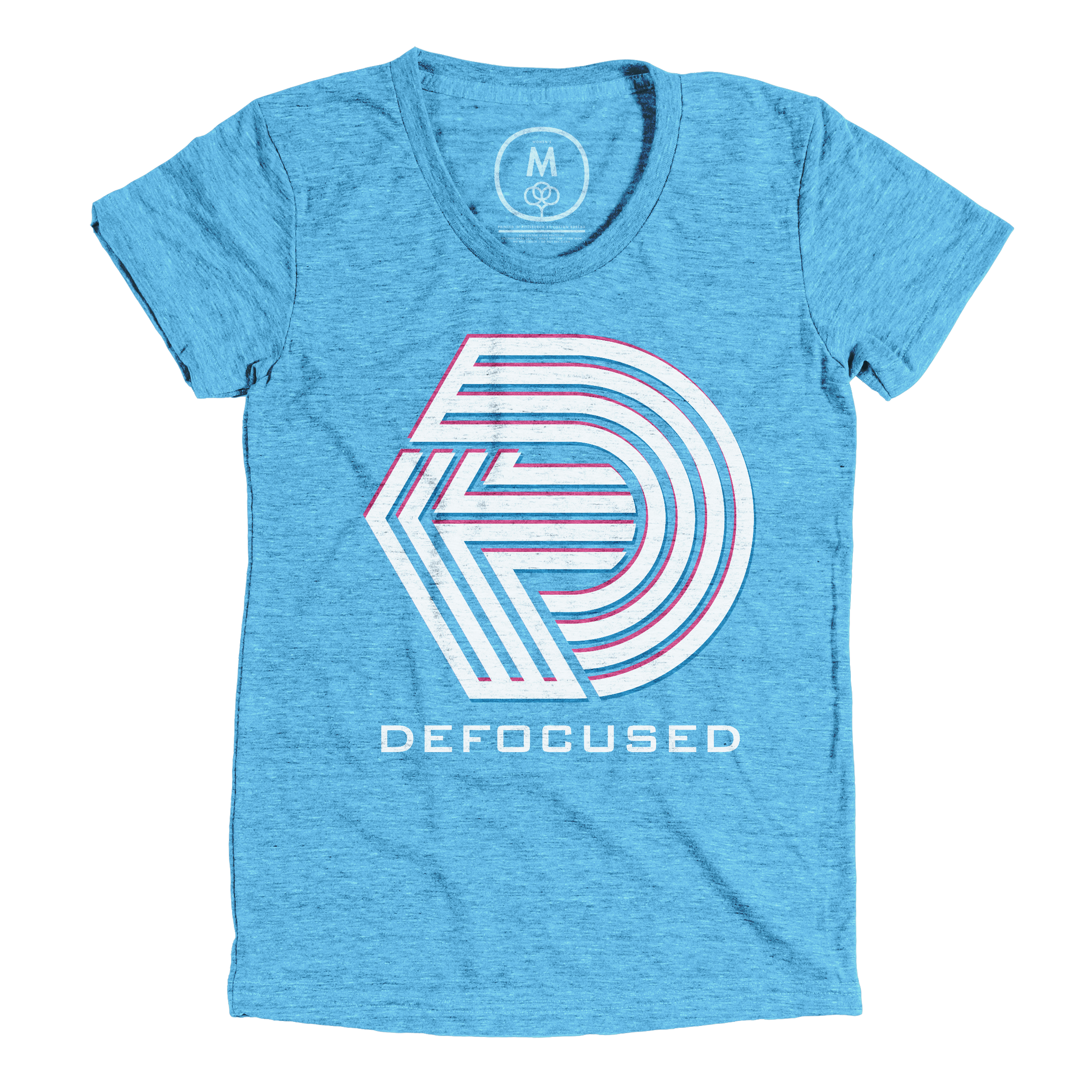 The Defocused Podcast Vintage Turquoise (Women's)