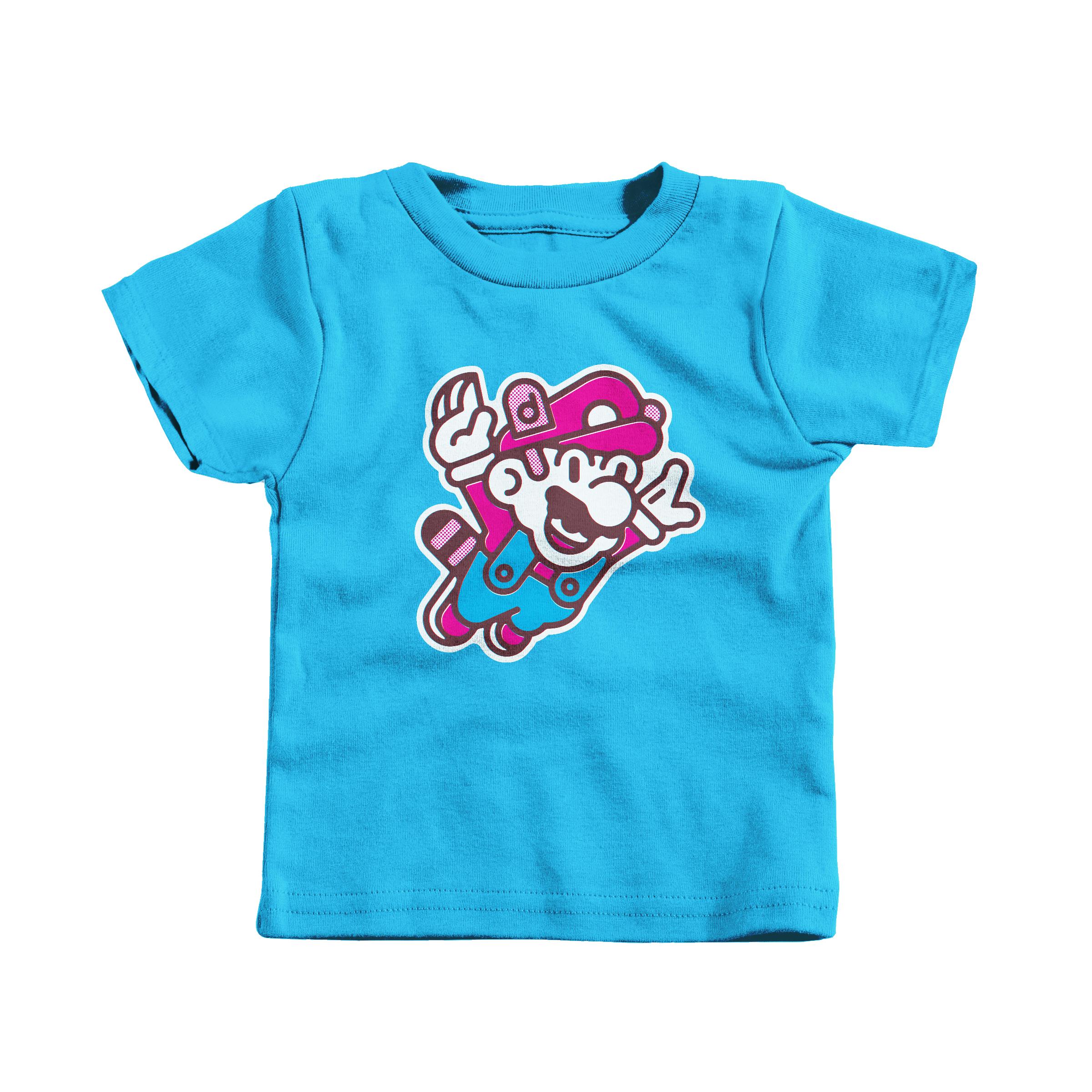 Super Mario Bros. 3 Turquoise (T-Shirt)