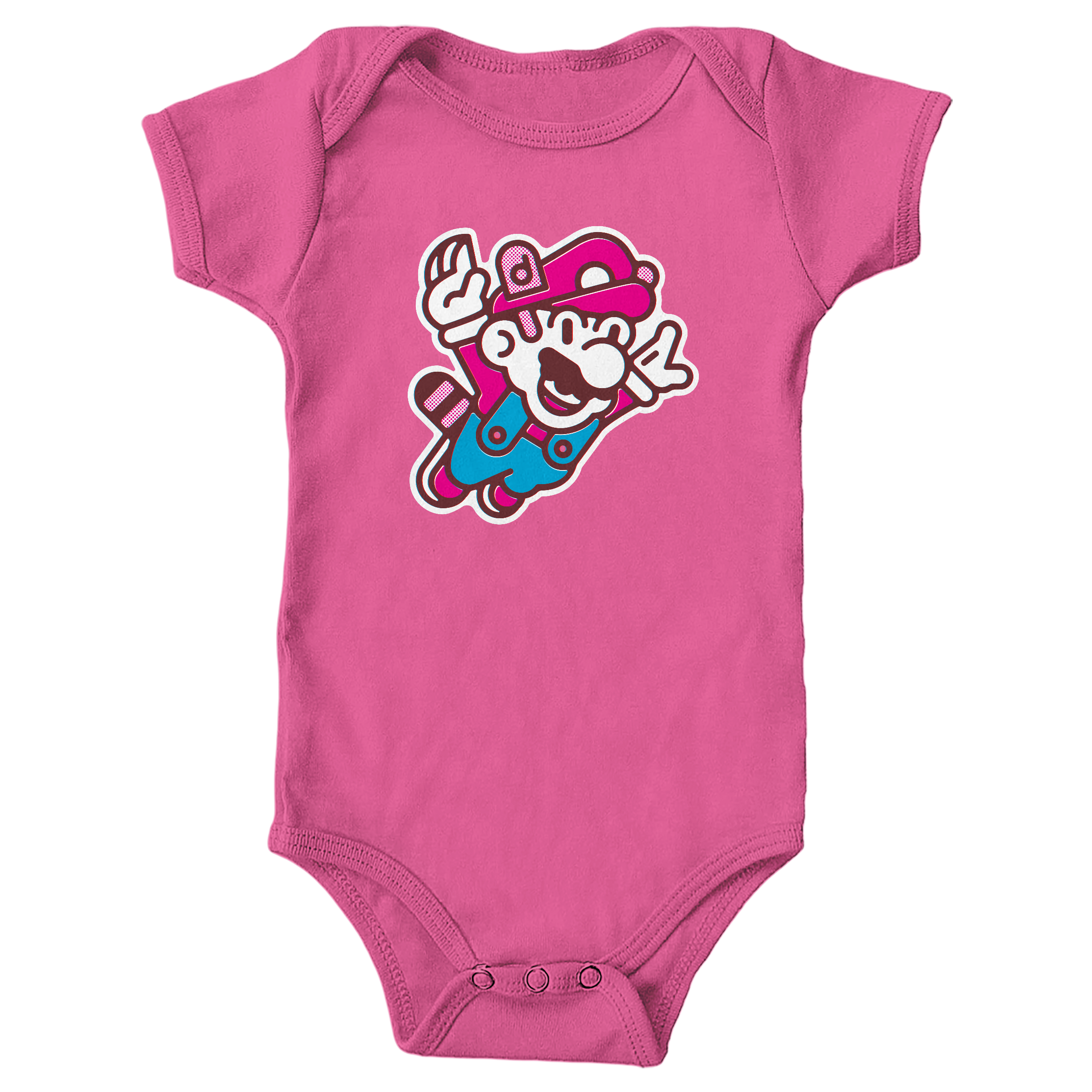 Super Mario Bros. 3 Hot Pink (Onesie)