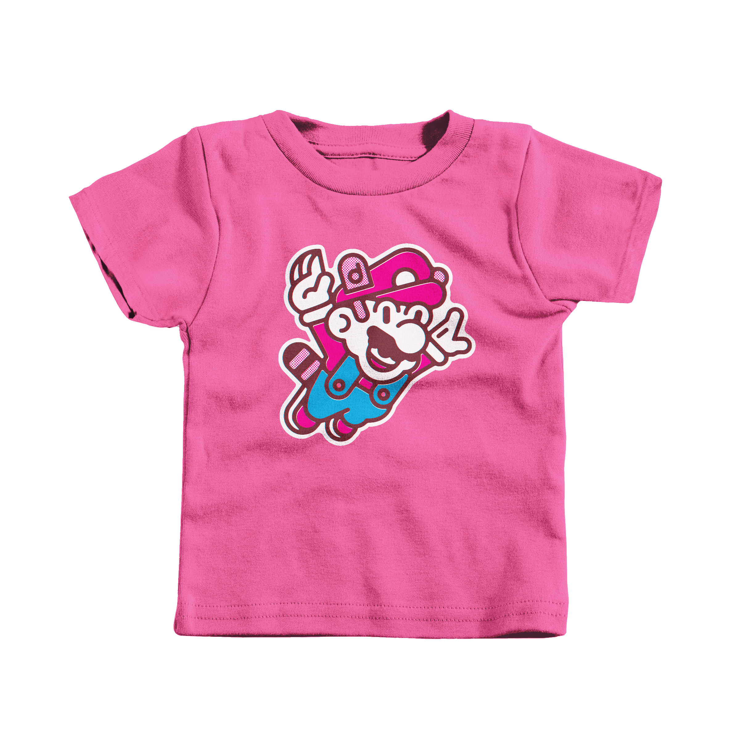 Super Mario Bros. 3 Hot Pink (T-Shirt)