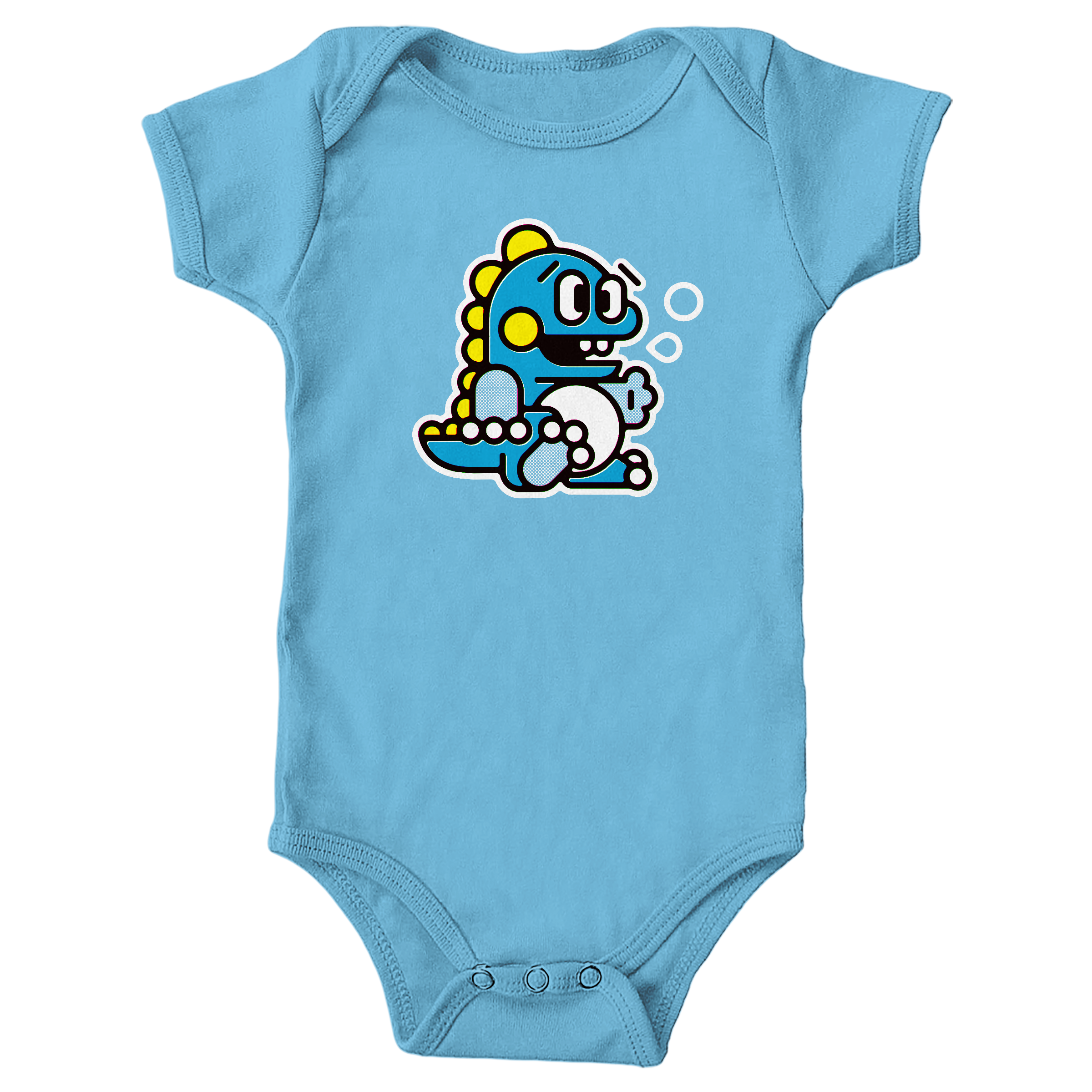 Bubble Bobble Light Blue (Onesie)