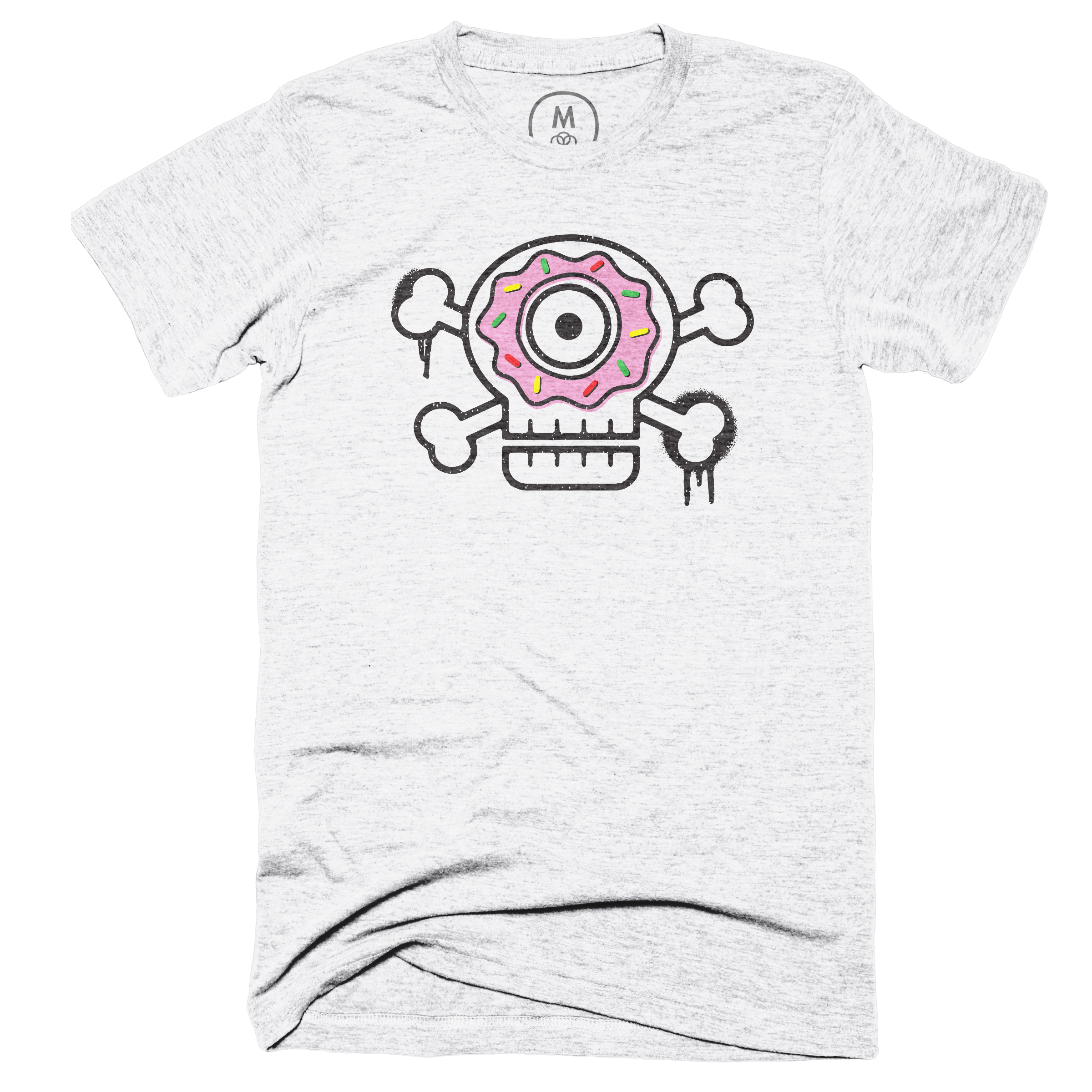Sugar Skull Heather White (Men's)