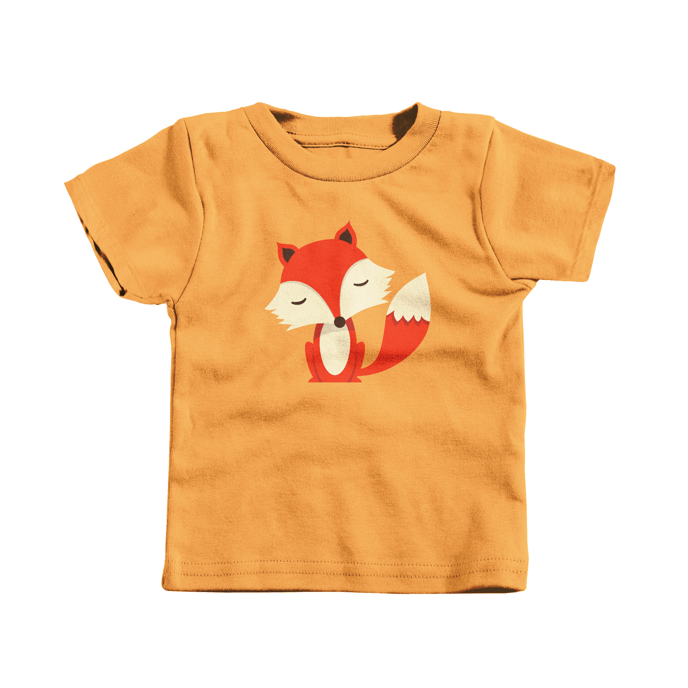 Friendly Fox Gold (T-Shirt)