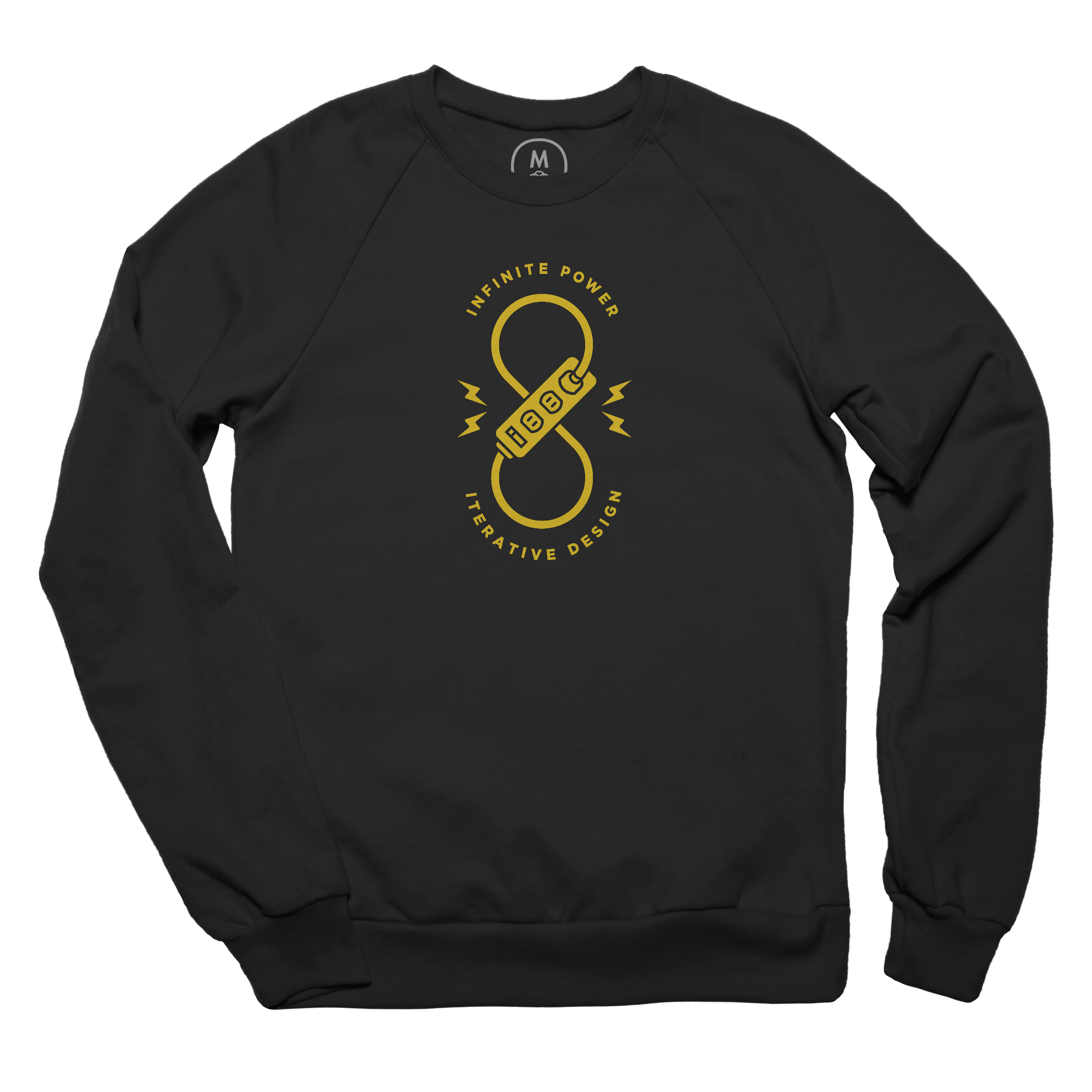Infinite Power, Iterative Design Pullover Crewneck