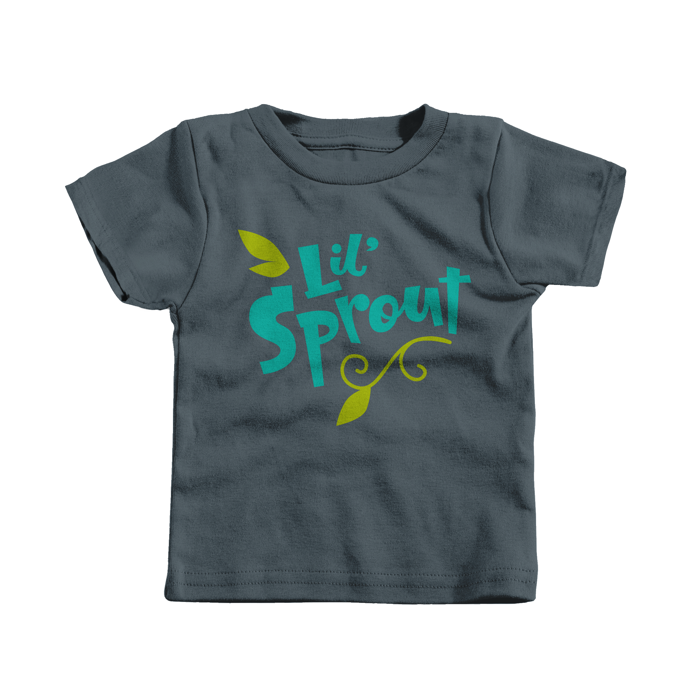 Lil' Sprout Charcoal (T-Shirt)