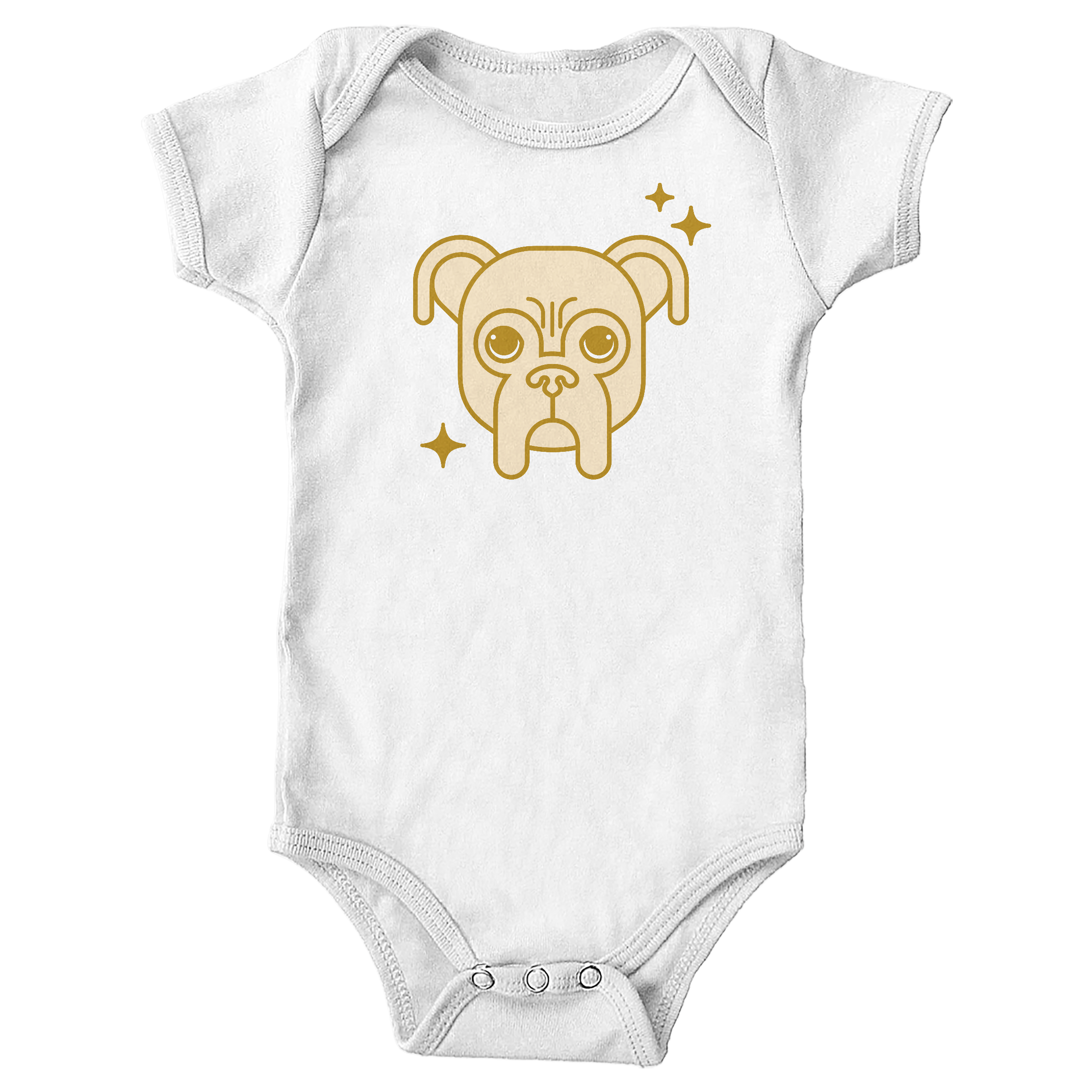 Golden Baron White (Onesie)