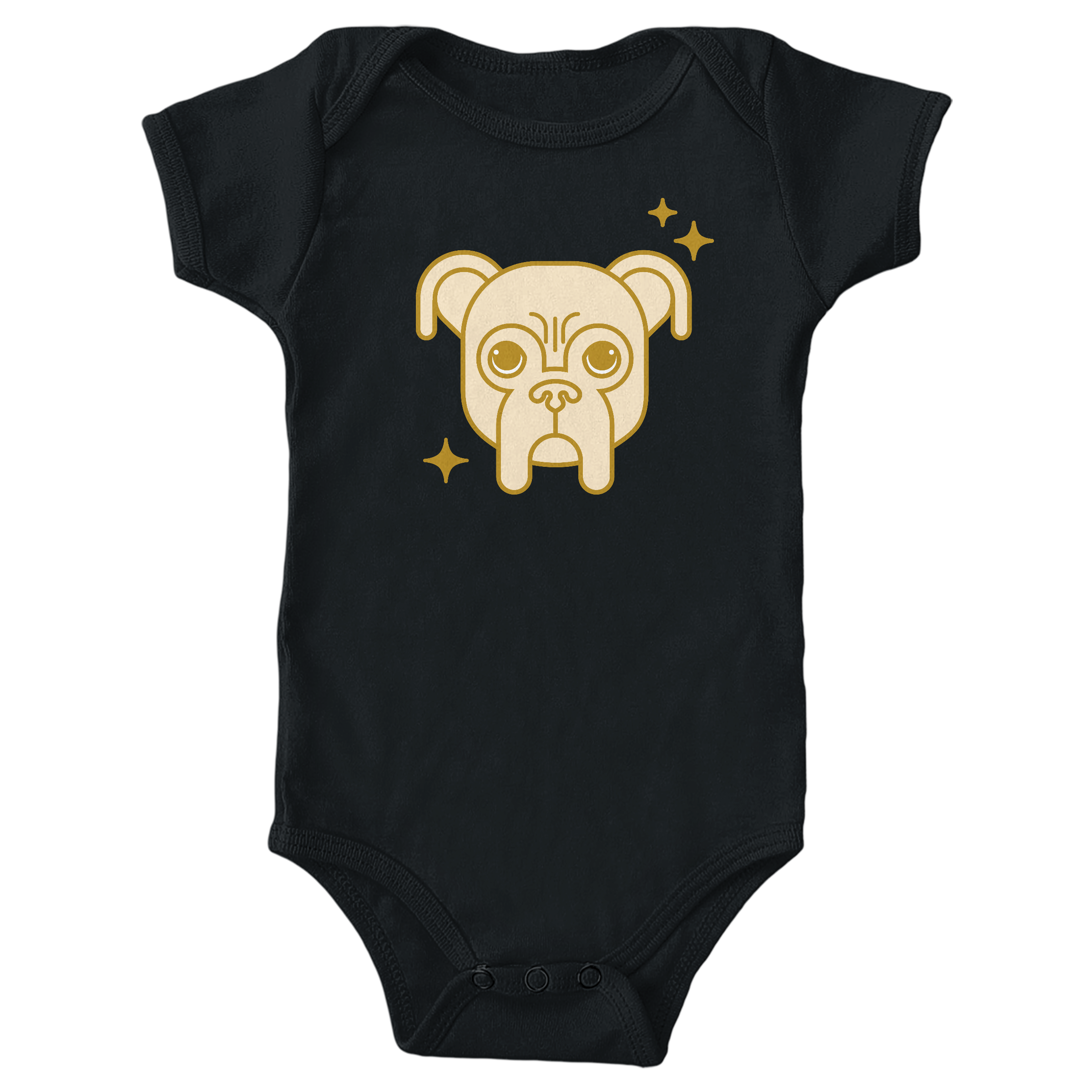 Golden Baron Black (Onesie)