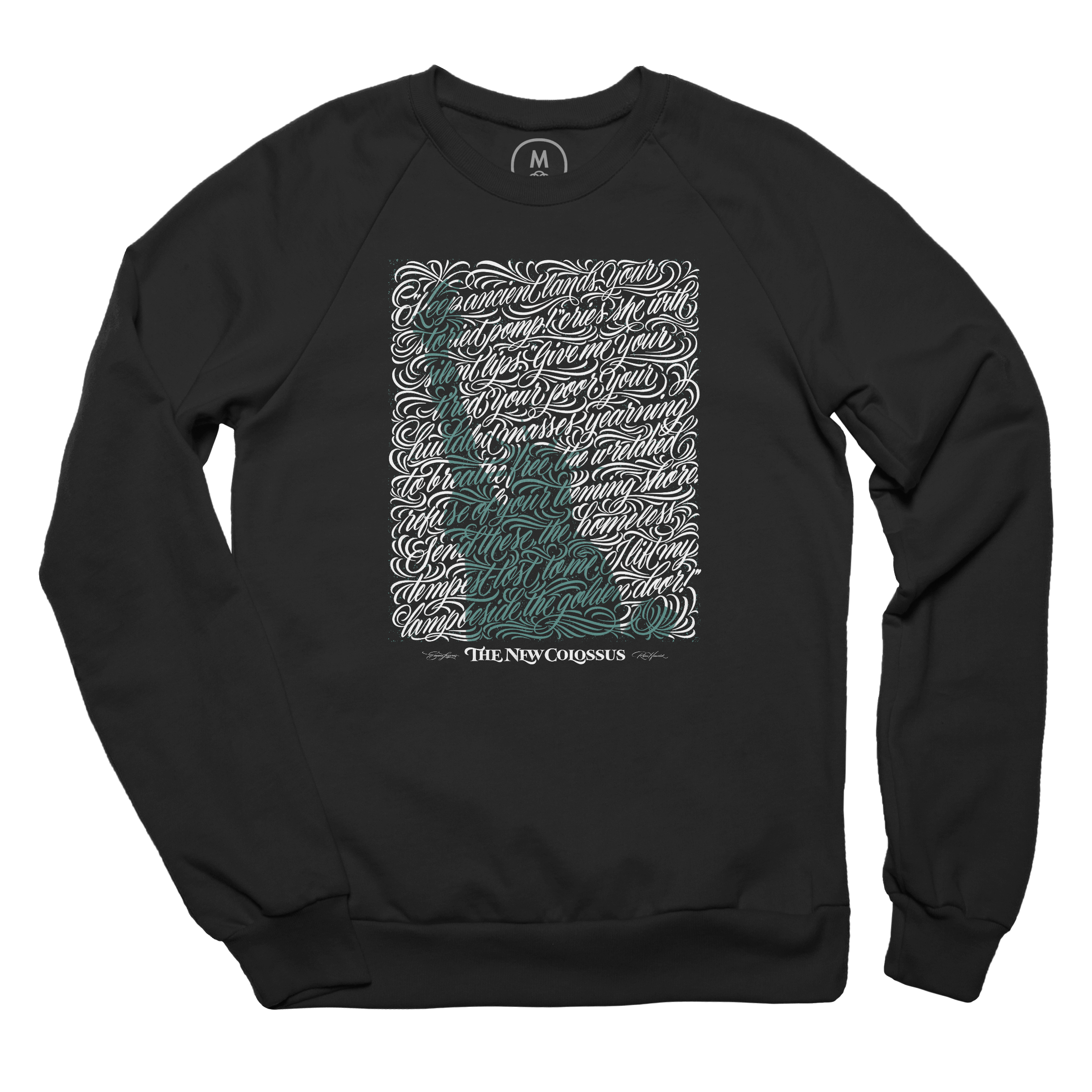 Yearning to Breathe Free Pullover Crewneck