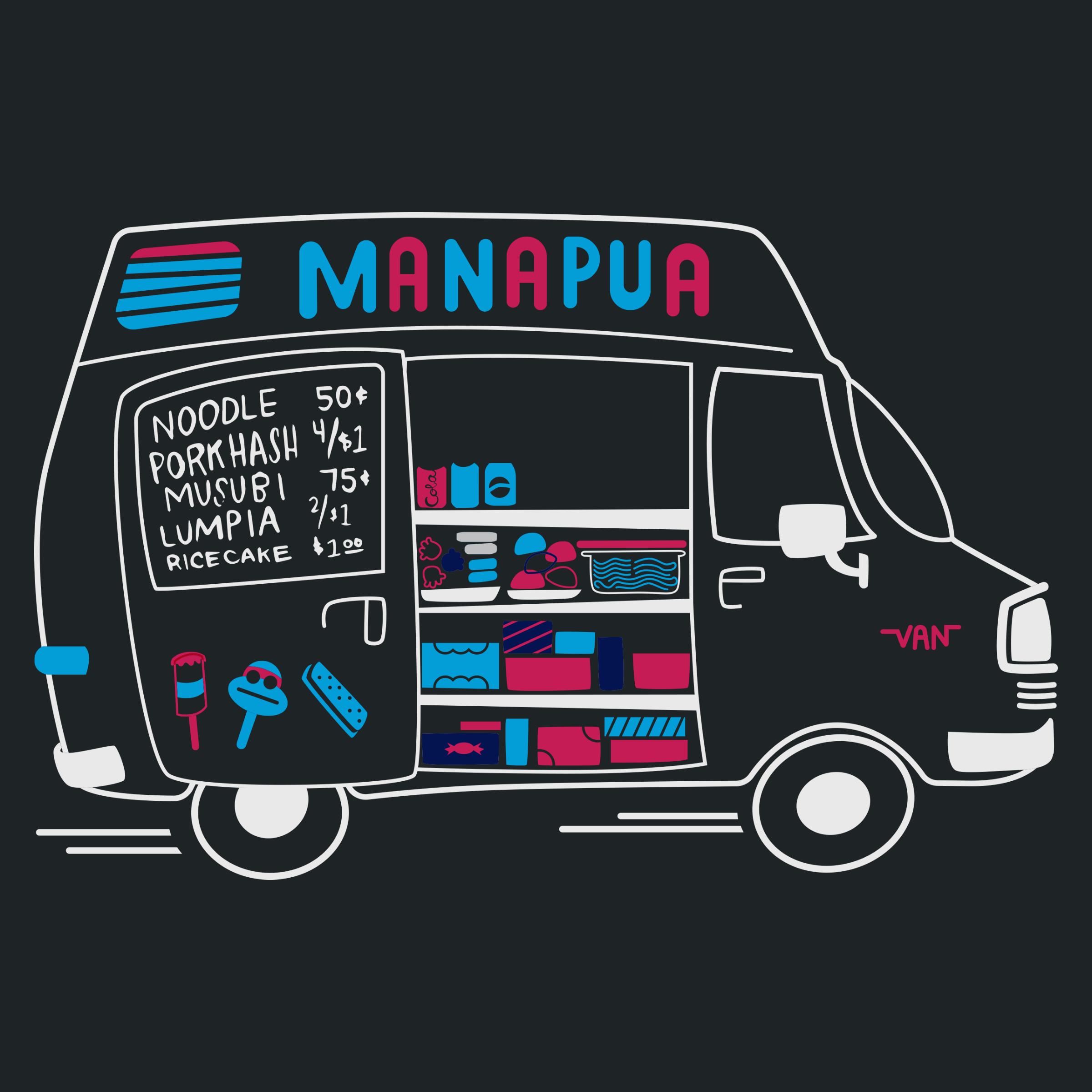 Manapua Truck Detail