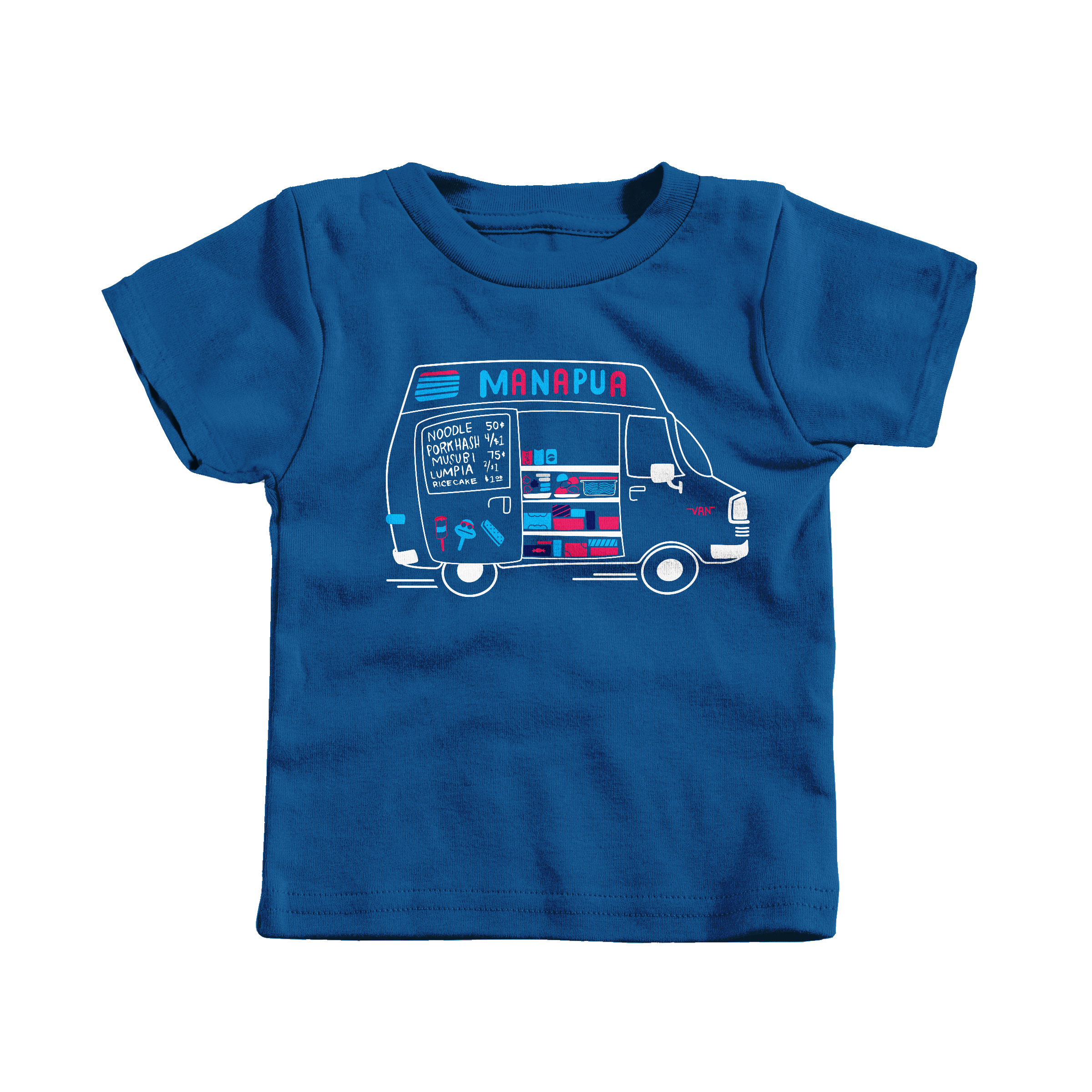 Manapua Truck Royal (T-Shirt)