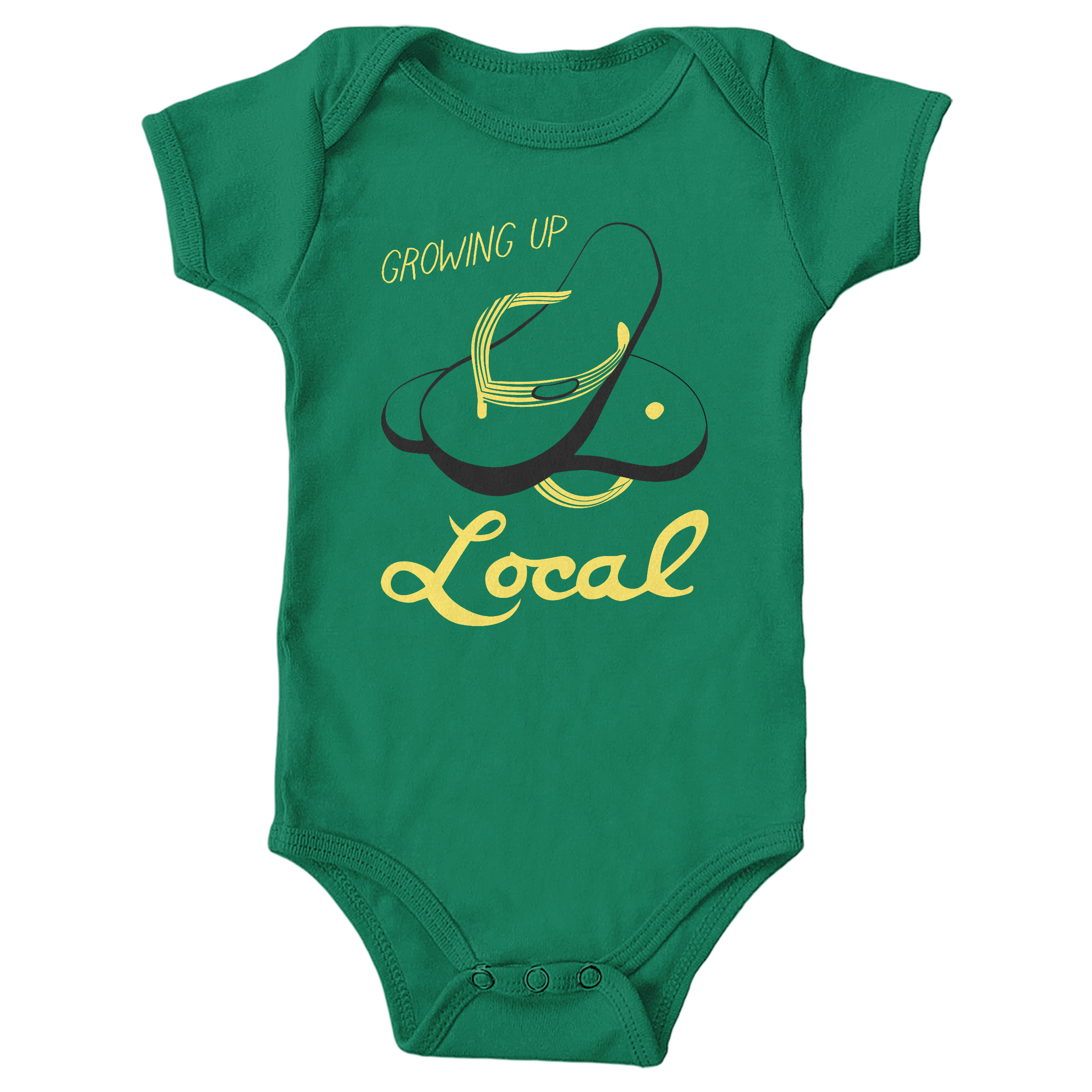 Growing Up Local Kelly (Onesie)