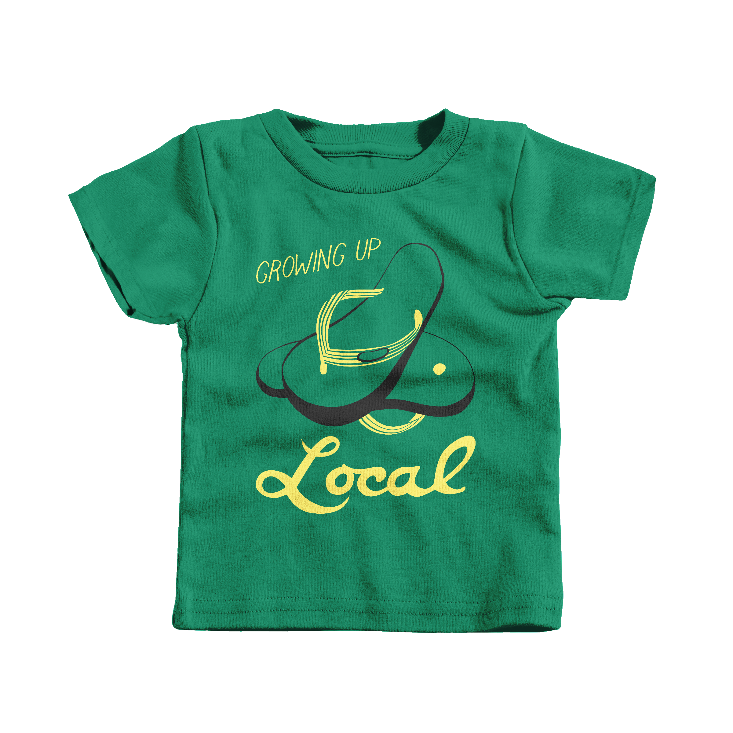 Growing Up Local Kelly (T-Shirt)