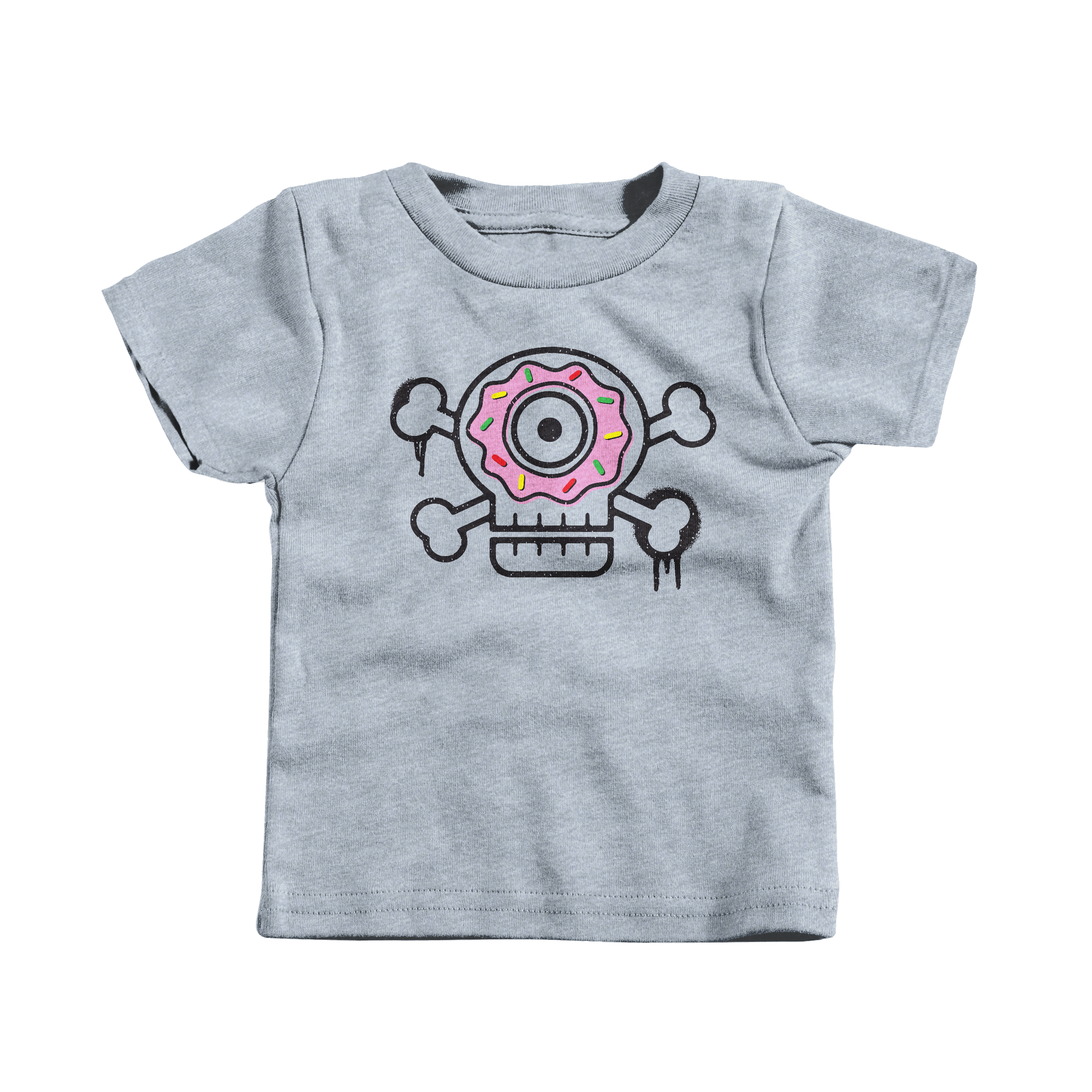 Sugar Skull Heather Grey (T-Shirt)