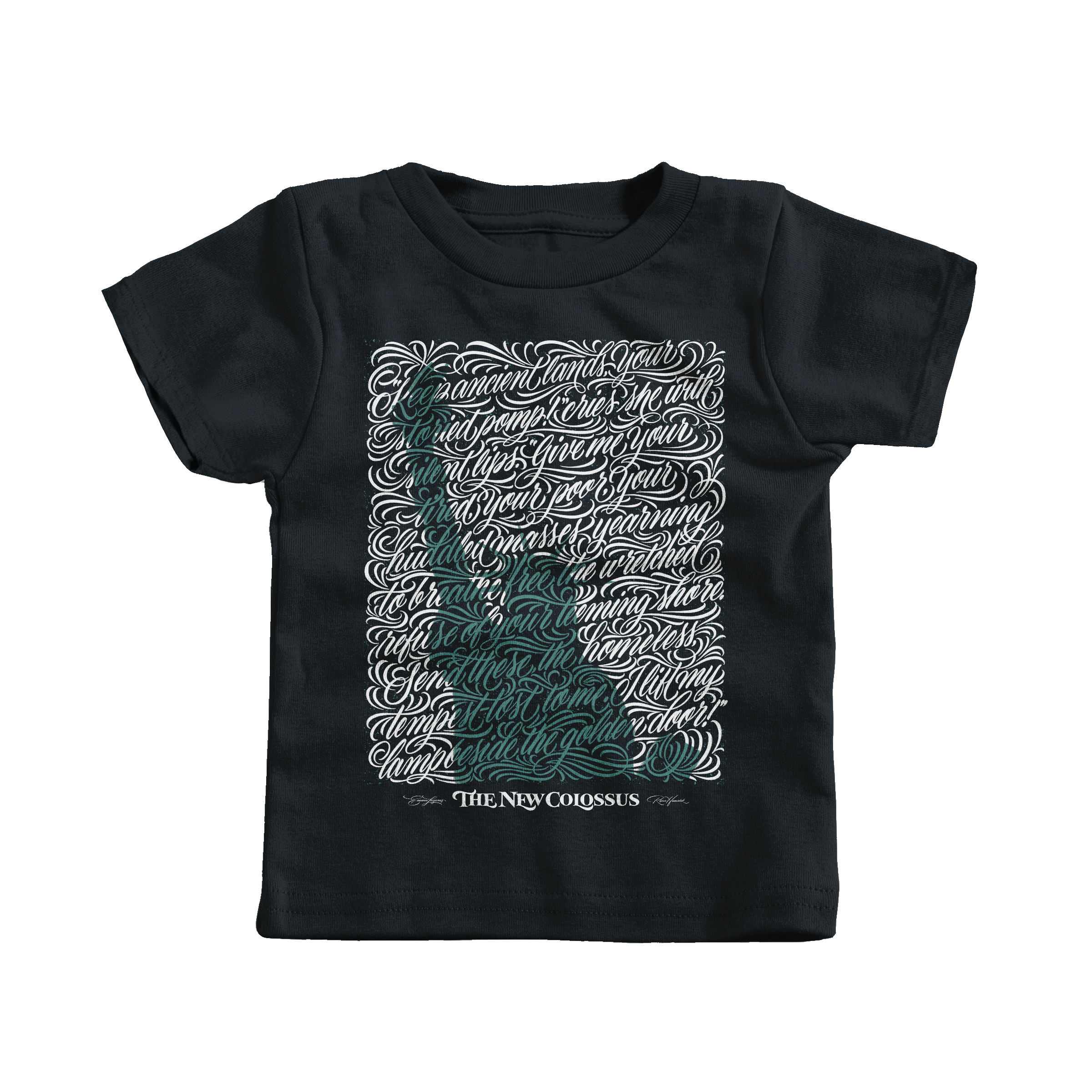 Yearning to Breathe Free Black (T-Shirt)