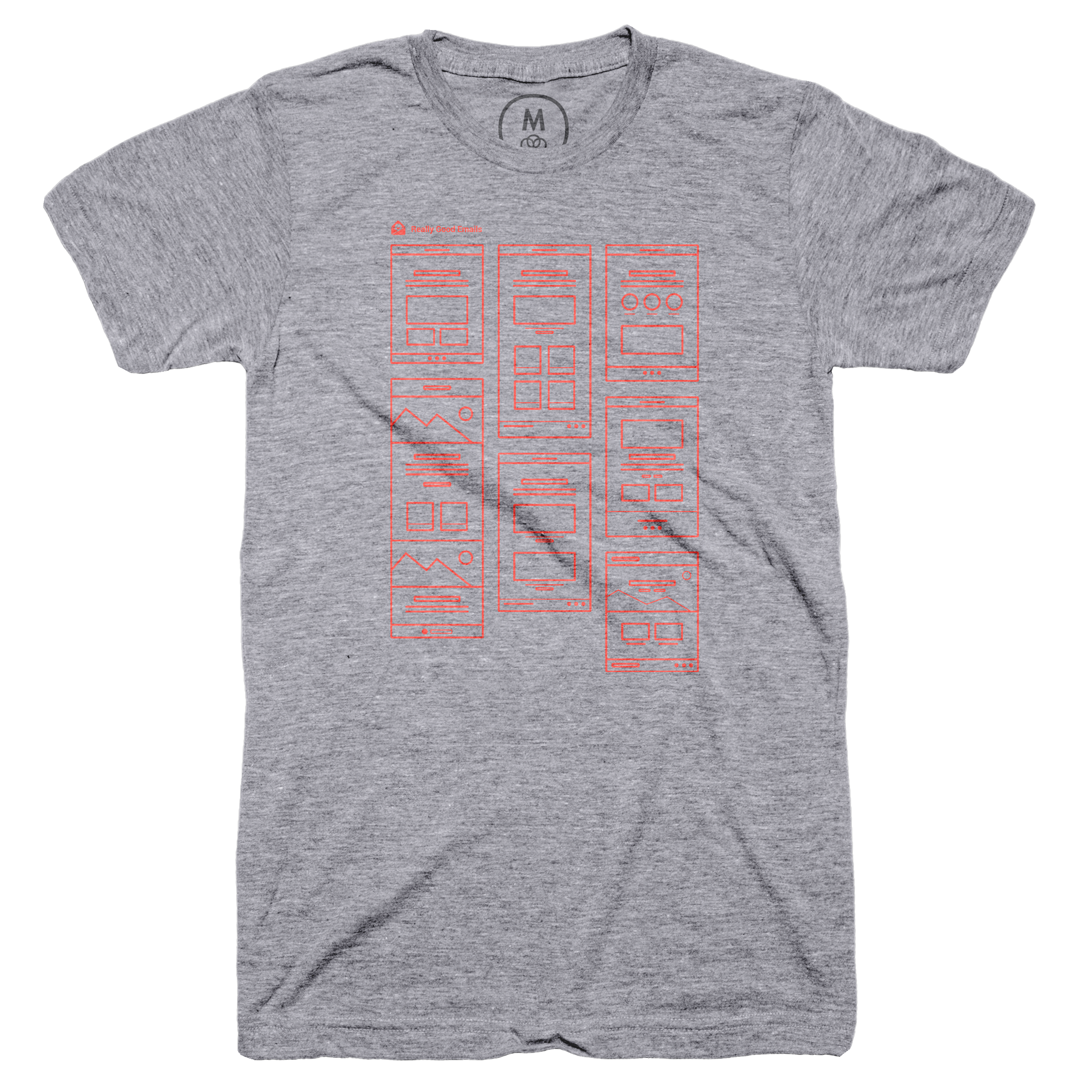 Design Better. Spam Never. Premium Heather (Men's)