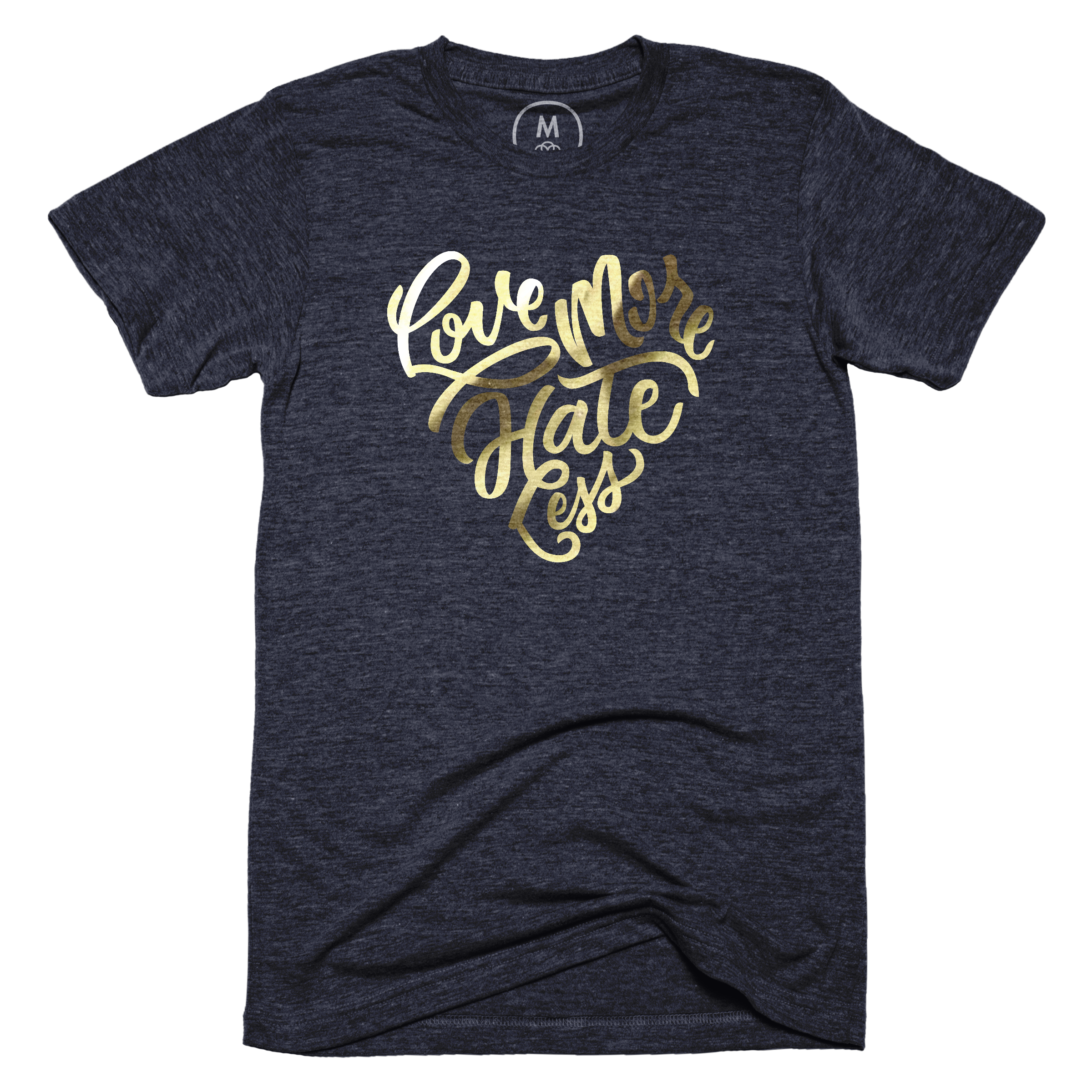 Love More Hate Less Vintage Navy (Men's)