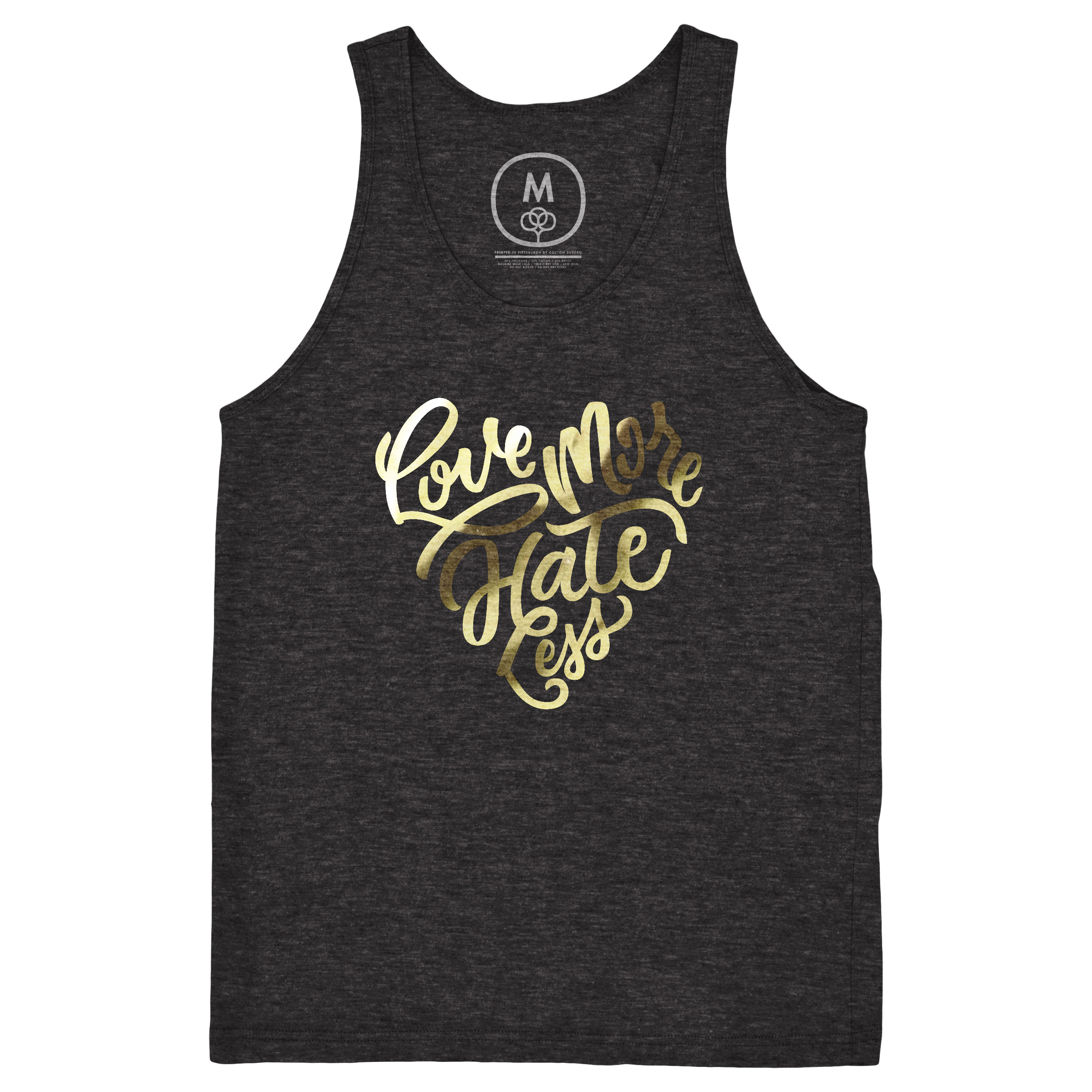 Love More Hate Less Tank Top