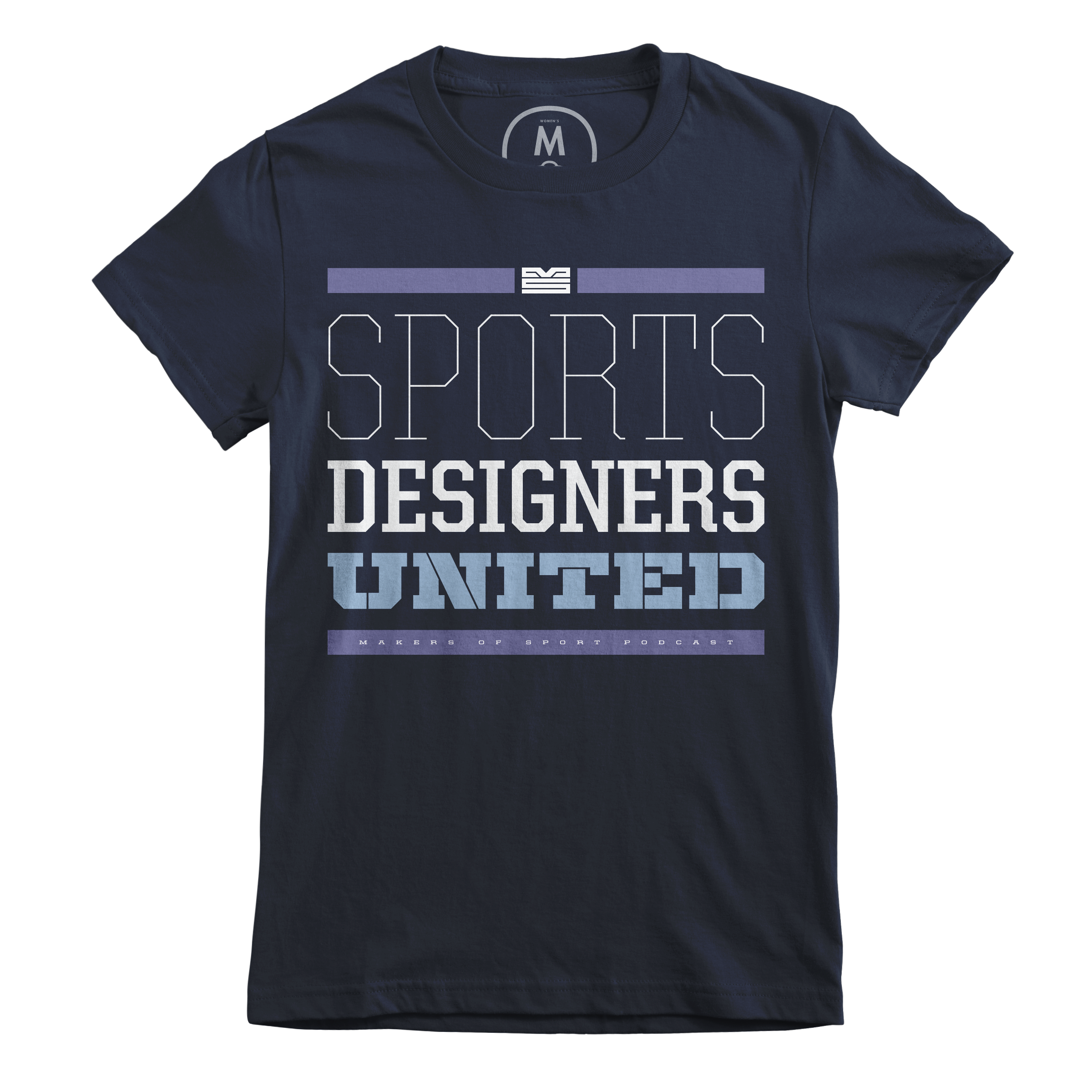 Sports Designers United by Makers of Sport Podcast Midnight Navy (Women's)