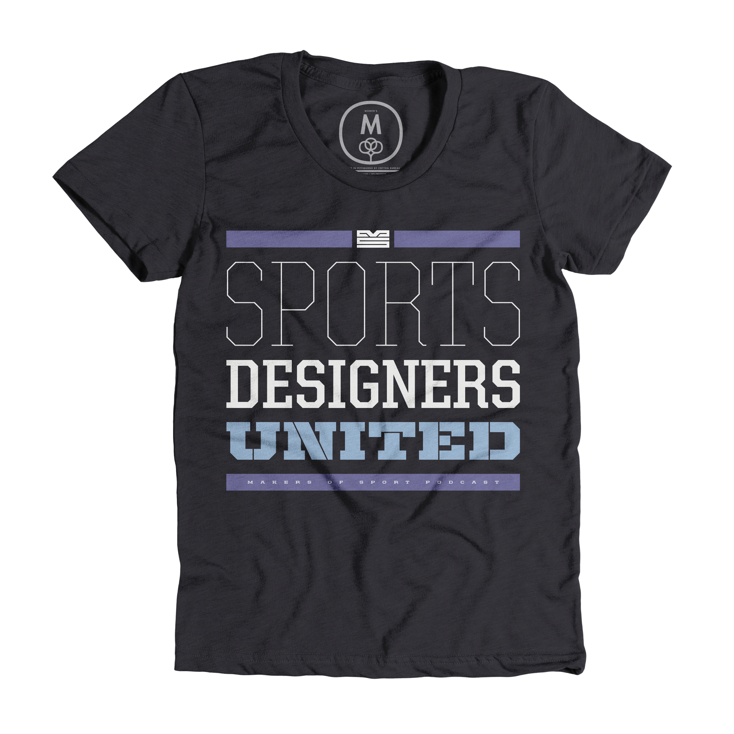 Sports Designers United by Makers of Sport Podcast Charcoal (Women's)