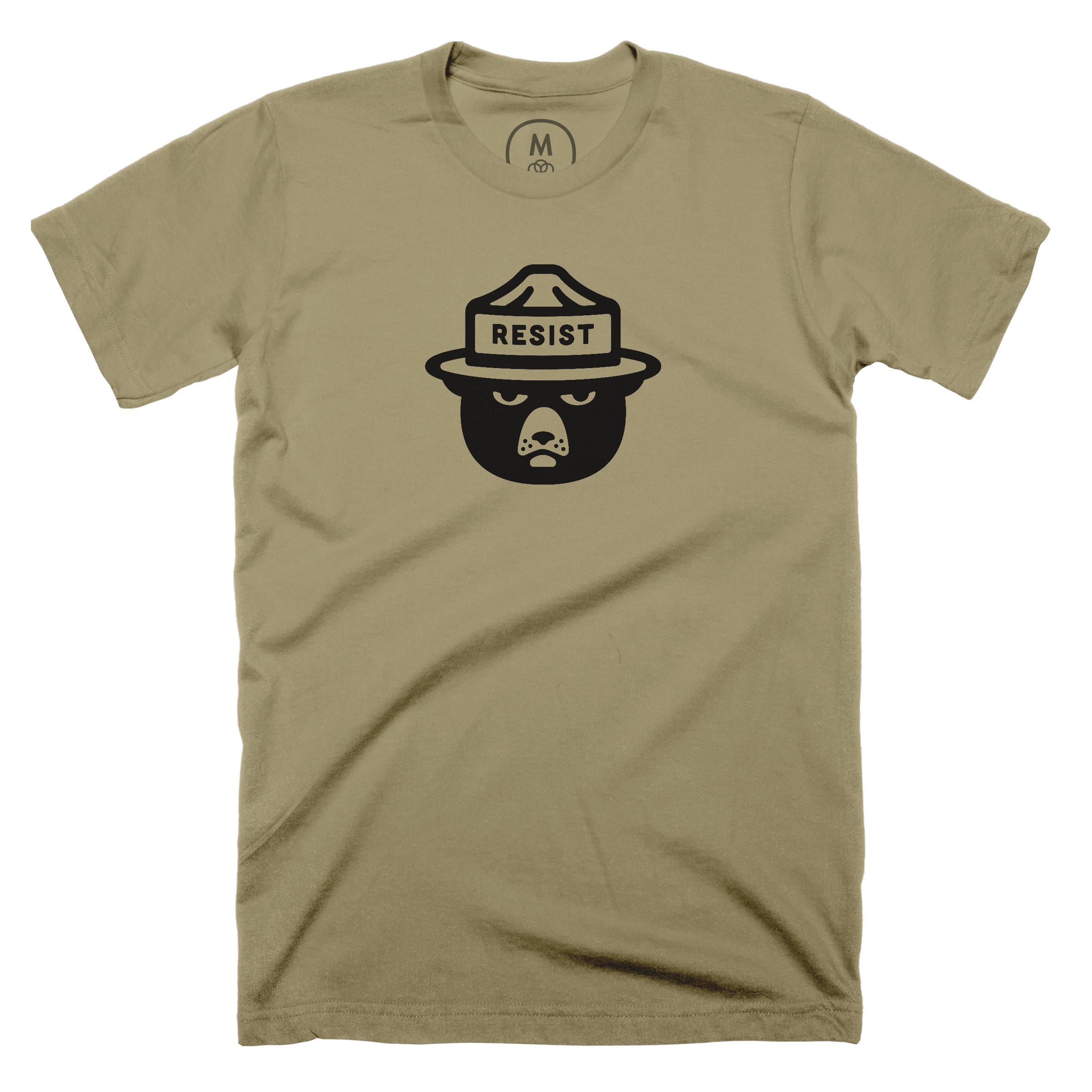 Only You Can Prevent Alt Facts Light Olive (Men's)